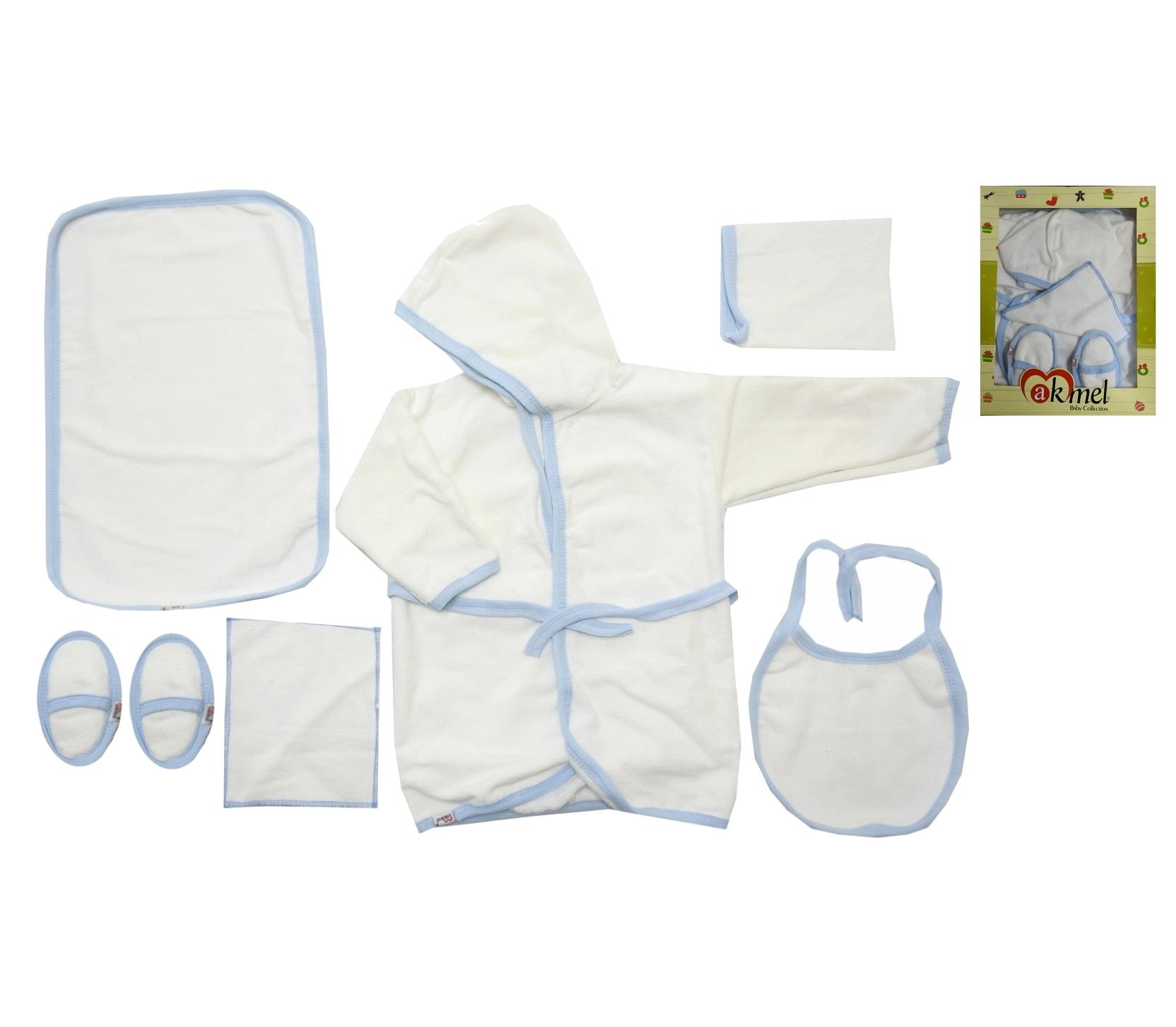 WHOLESALE BATHROBE, CHANGING PAD, BATH GLOVE, SLIPPERS, BIBS, HANKIE SET FOR BABY