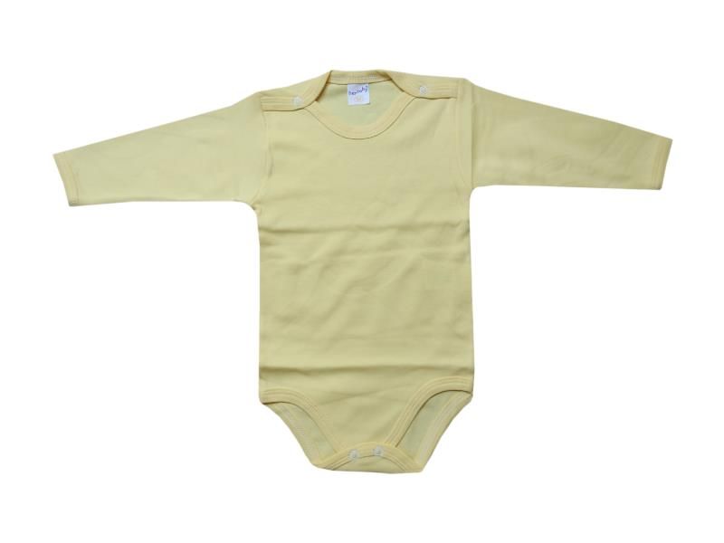 019 Wholesale snap fastening long sleeve bodysuit for baby clothes (2-3-4 age)