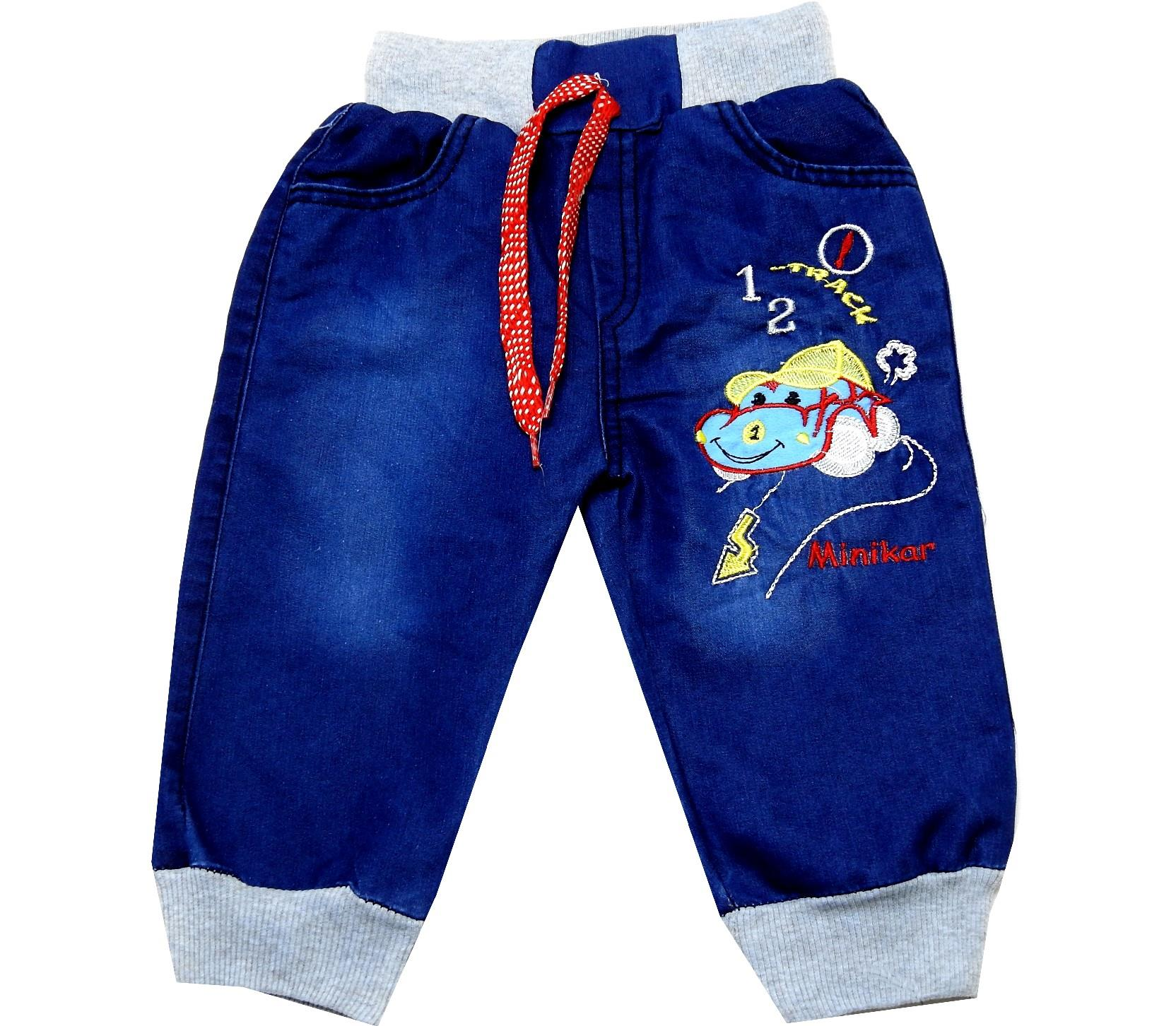 PRINTED DESIGN JEANS PANTS (1-2-3-4 AGE)