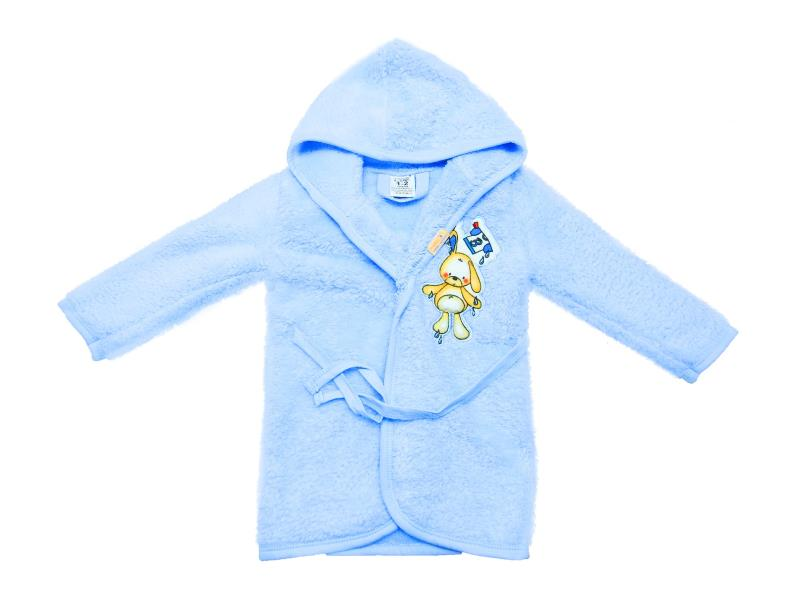 418 Wholesale hooded bathrobe for baby clothes (1-2-3 age)