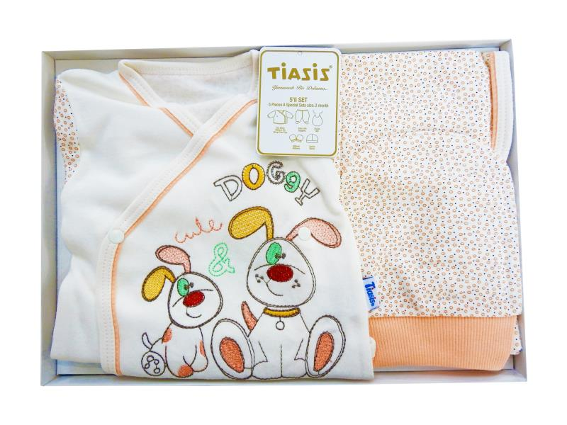 T-2245 Wholesale newborn set for babies 5 pieces in package