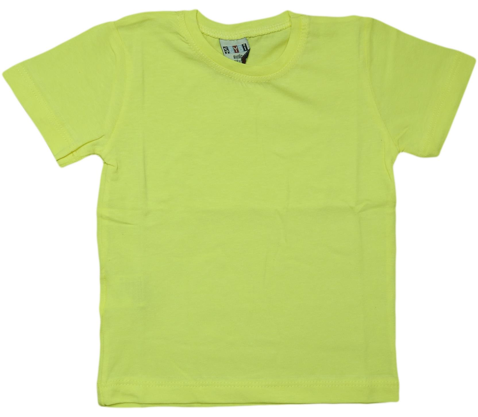 037 Wholesale quality and cheap t-shirt for kids 5-6-7-8 age