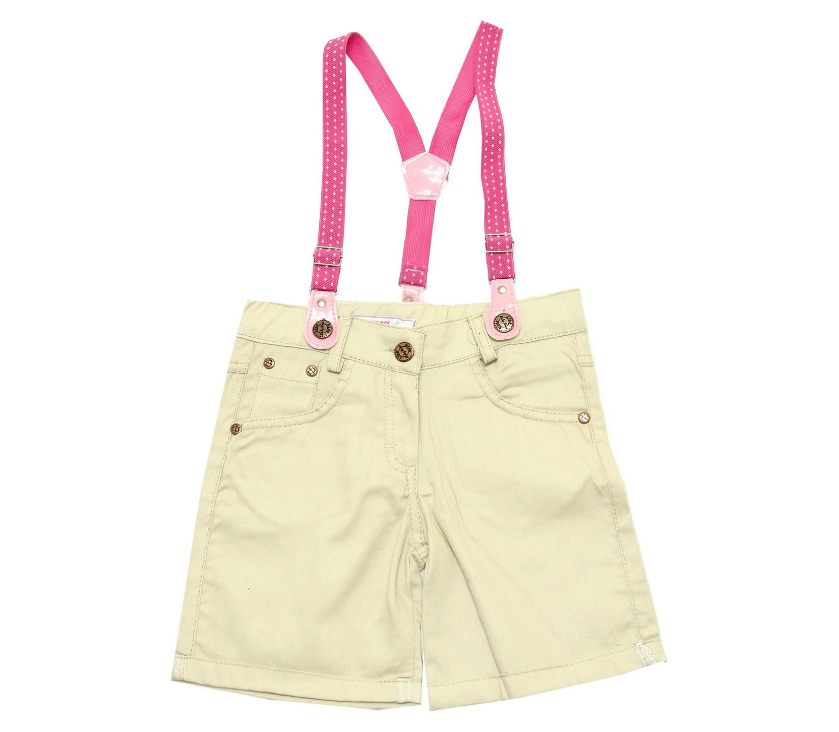 WHOLESALE SUSPENDED SHORT FOR GIRL (2-3-4-5 AGE)