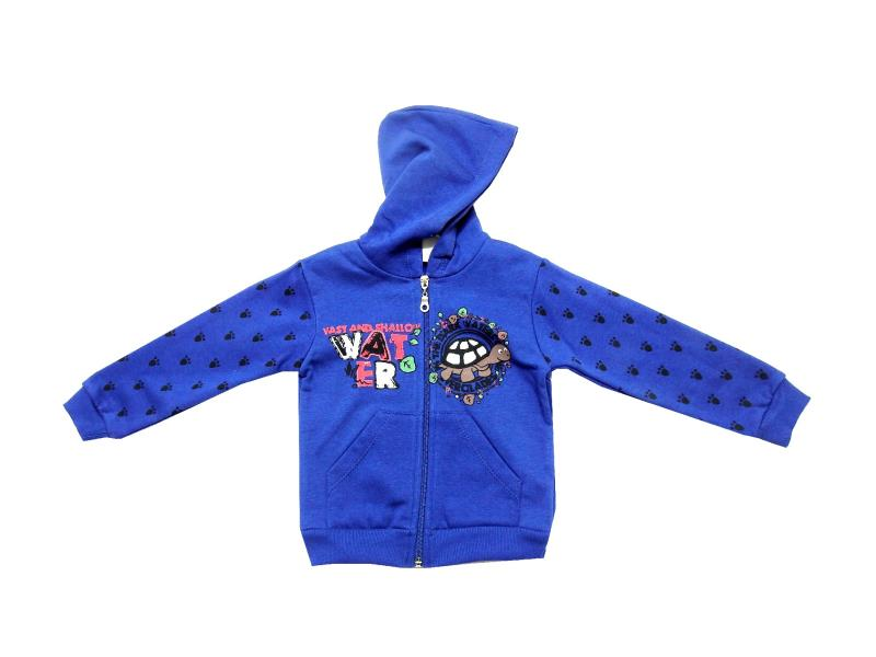 Wholesale turtle print hoodie sweatshirt for boy (1-2-3-4 age)