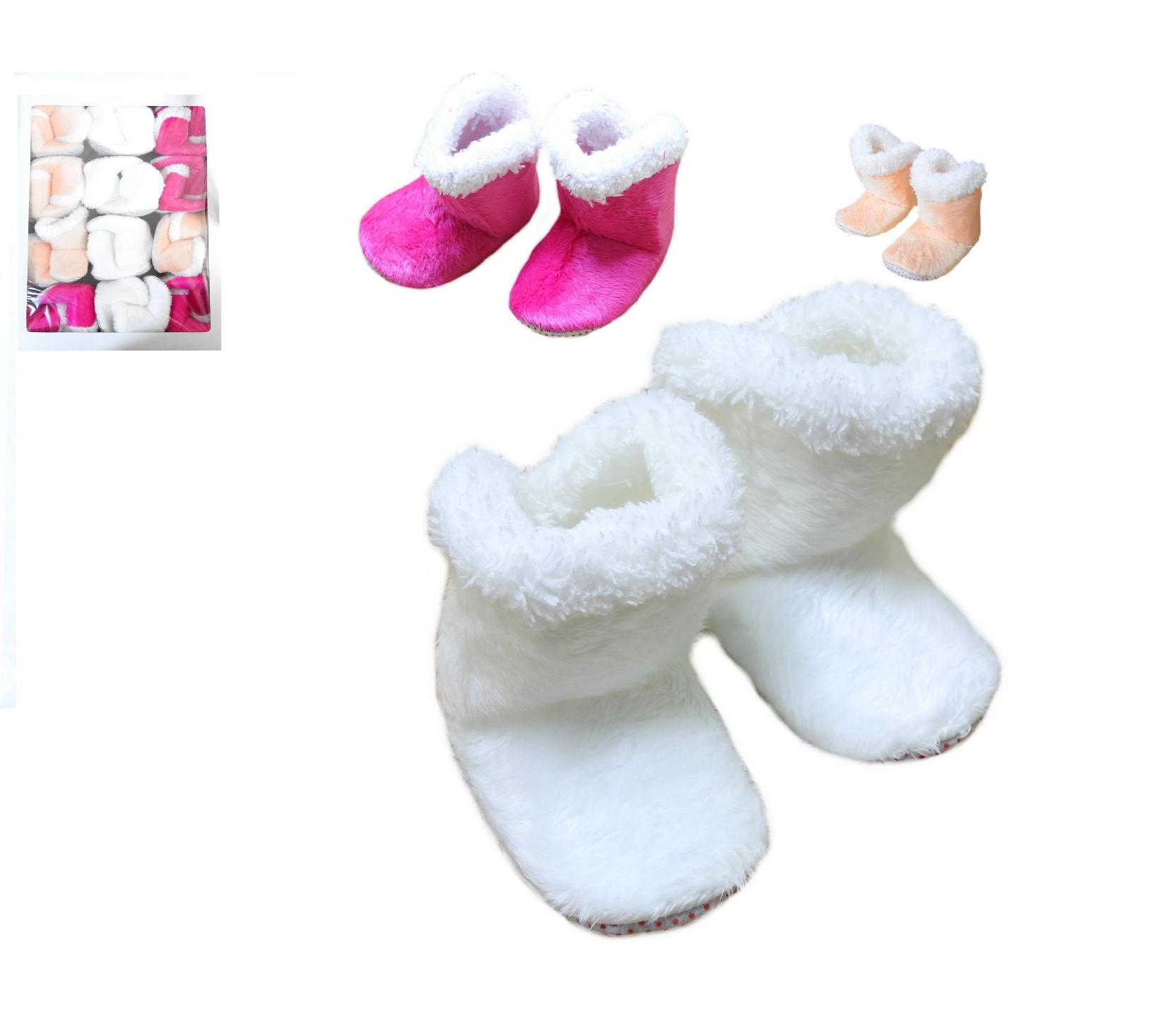 021 Wholesale faux shearling booties 12 pieces