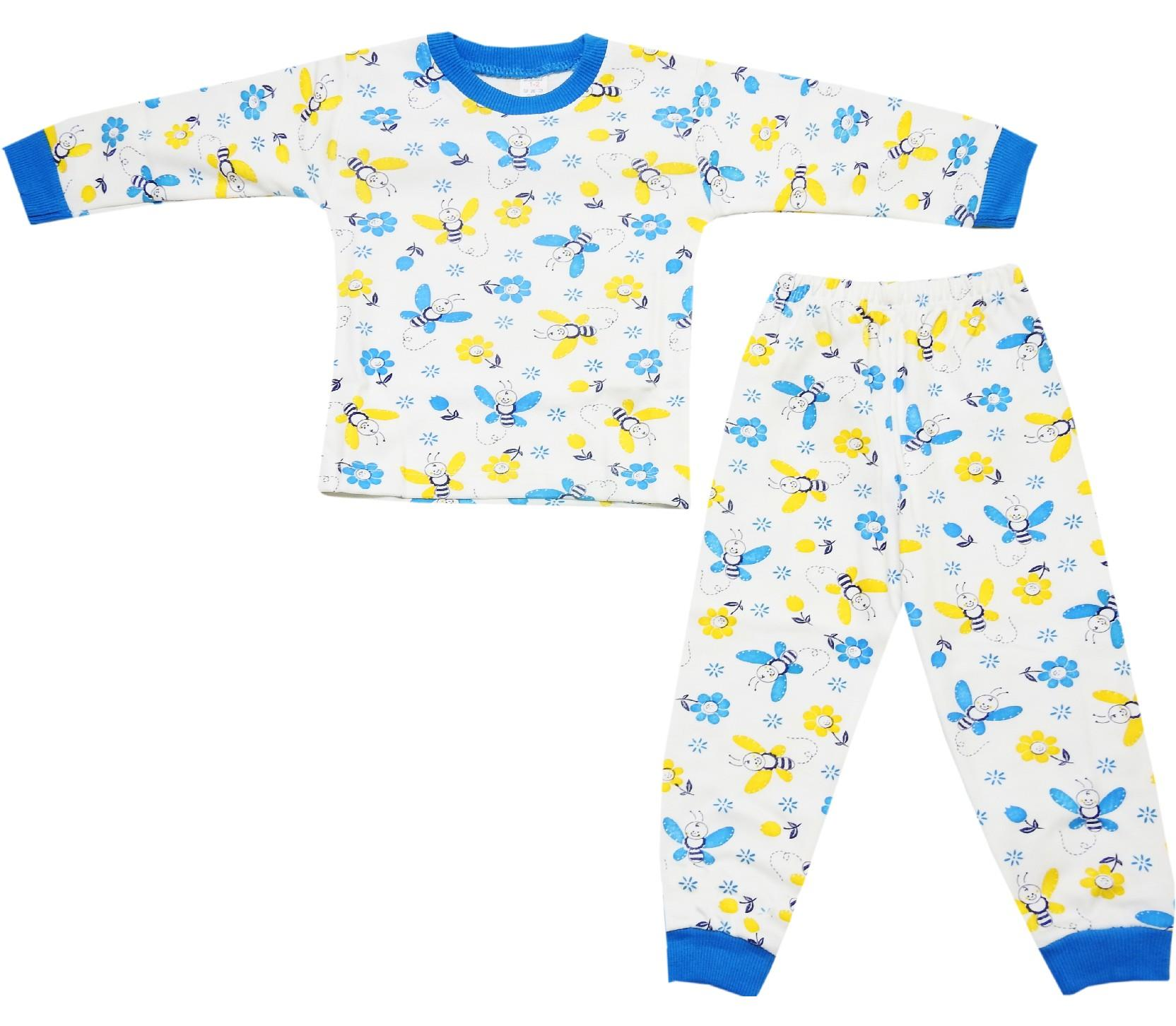001 wholesale patterned pyjama for children (2-3-4 age)