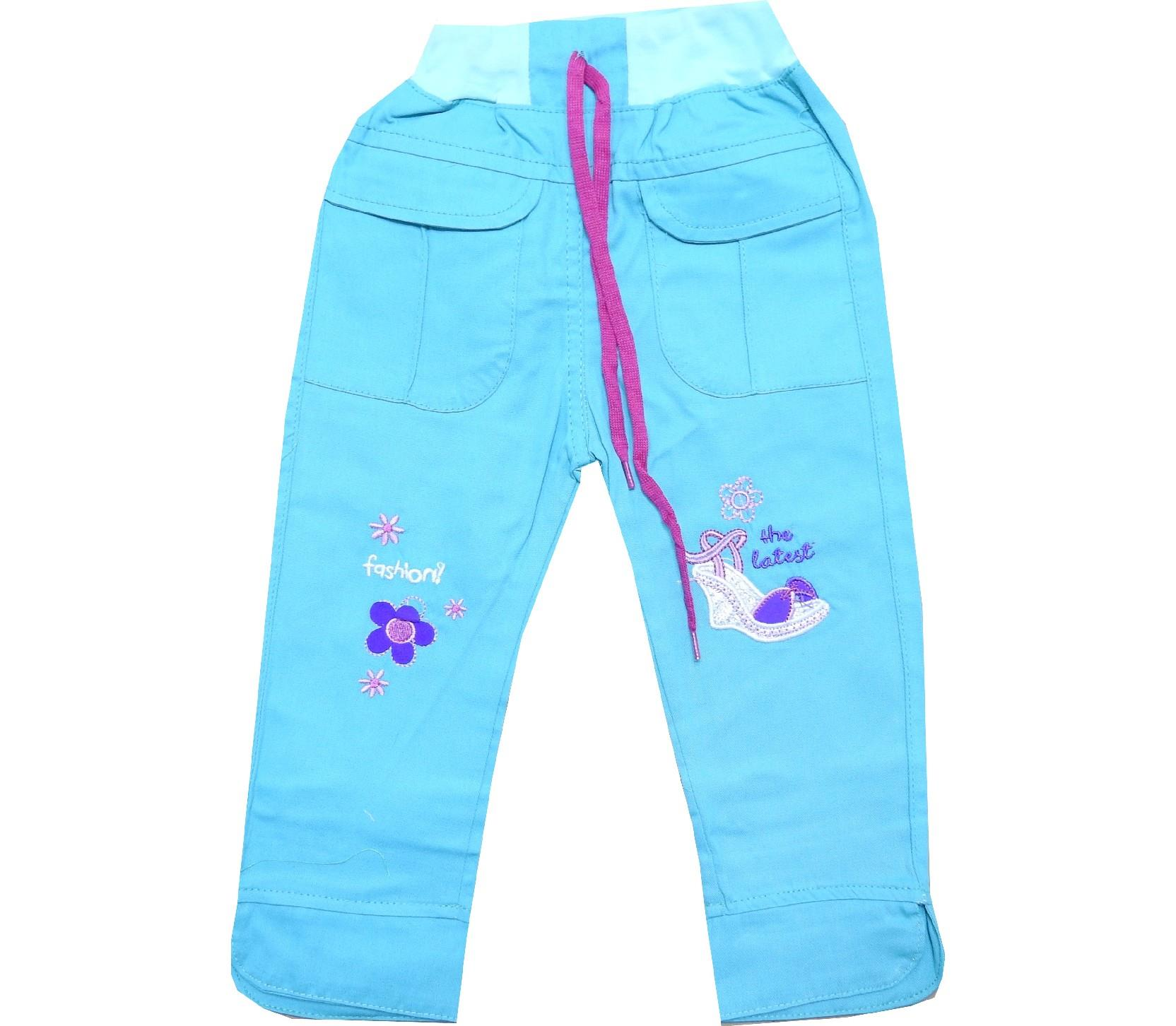 Wholesale gabardine pant for girl (1-2-3 age)