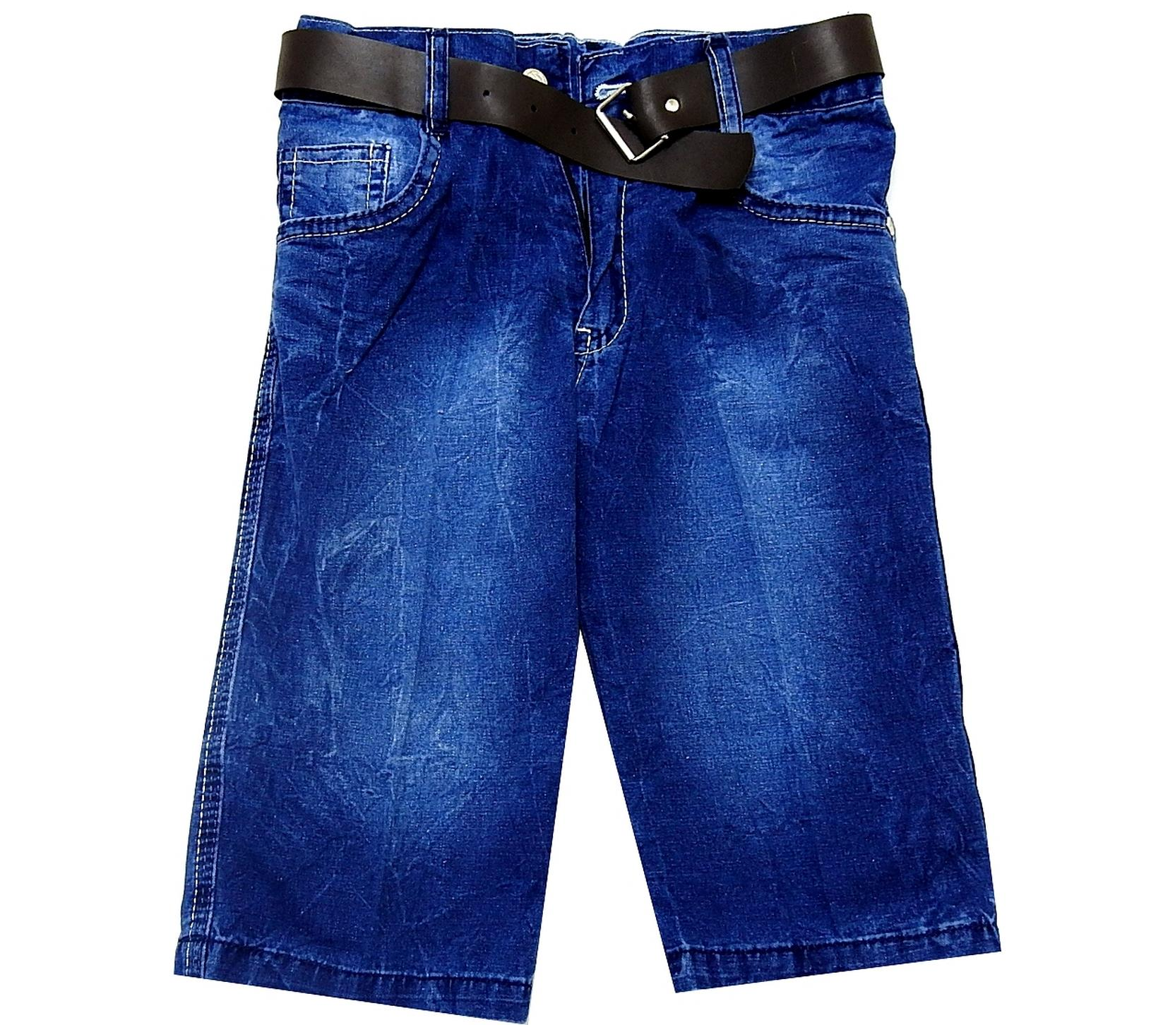 WASHED JEANS CAPRI FOR BOY (5-6-7-8 AGE)