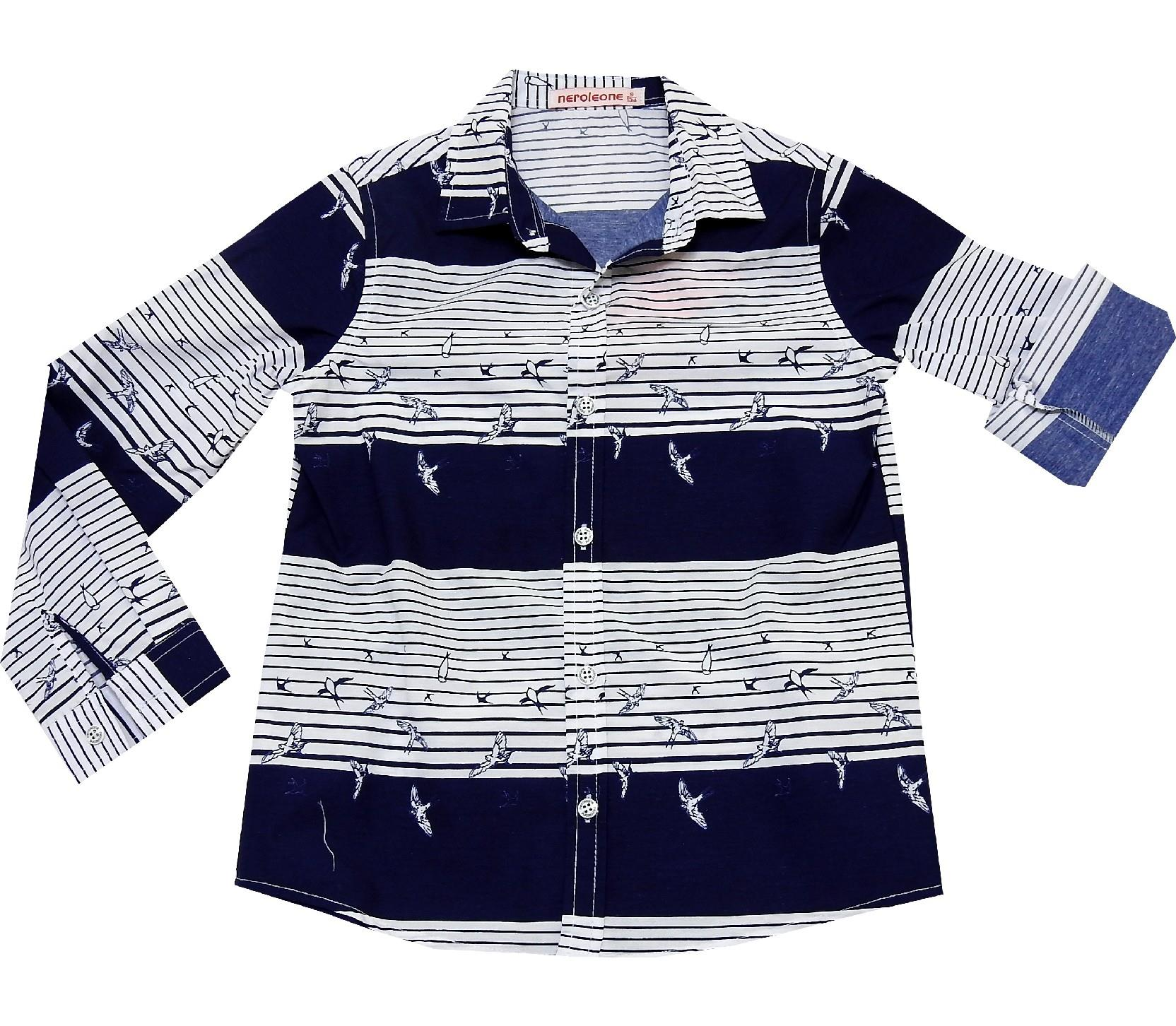 STRIPED DESIGN SHIRT FOR BOY (5-6-7-8 AGE)