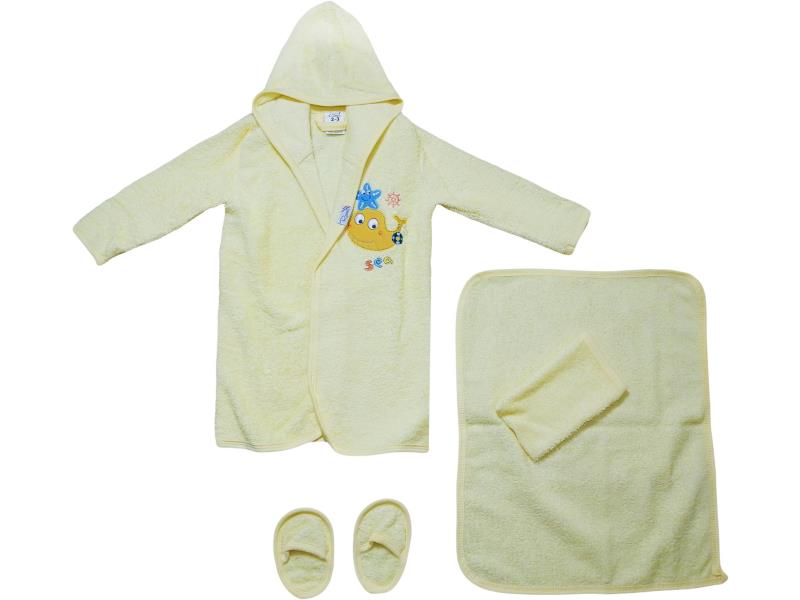 426 Wholesale bathrobe set for baby