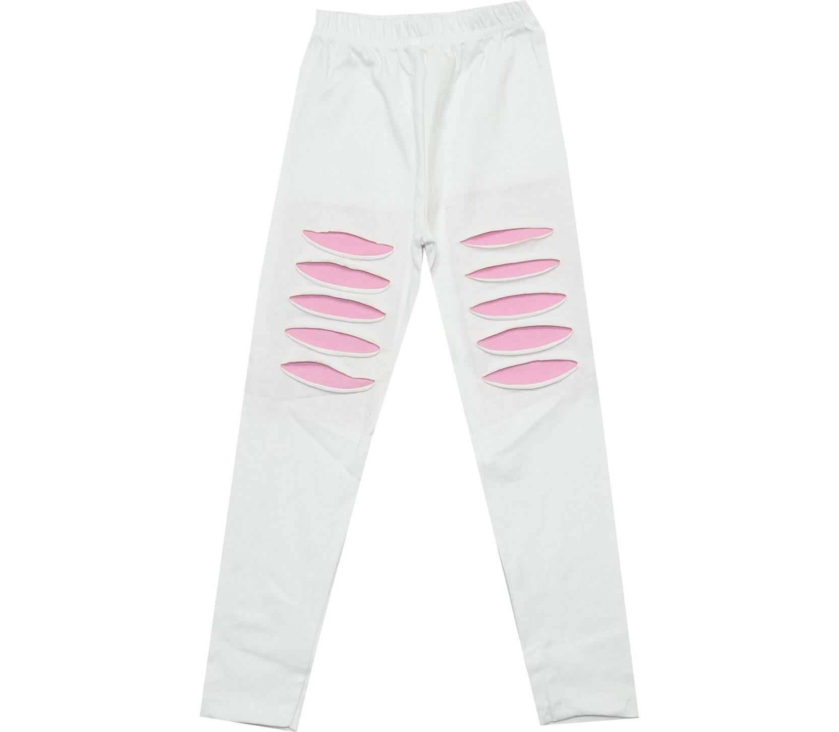 DECORATIVE RIPS DESIGNED TIGHT FOR GIRL (4-5-6-7-8 AGE)
