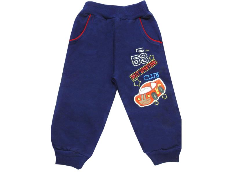 106 Wholesale car printed trouser for boy kids clothes (1-2-3-4 age)