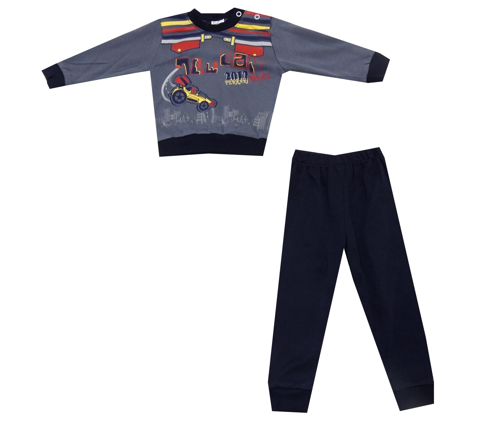 CAR PRINTED DOUBLE SET FOR BOY (6-9-12 MONTH)