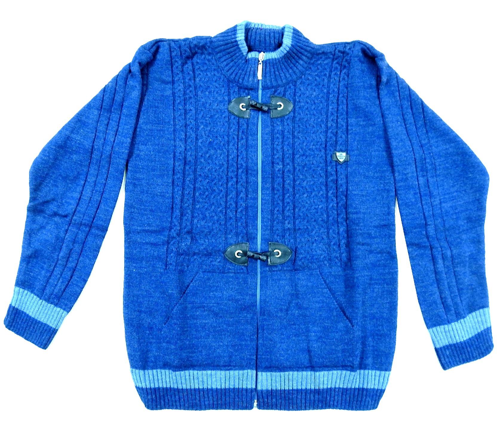 KNITTED DESIGN SWEATER FOR BOY (10-12-14 AGE)