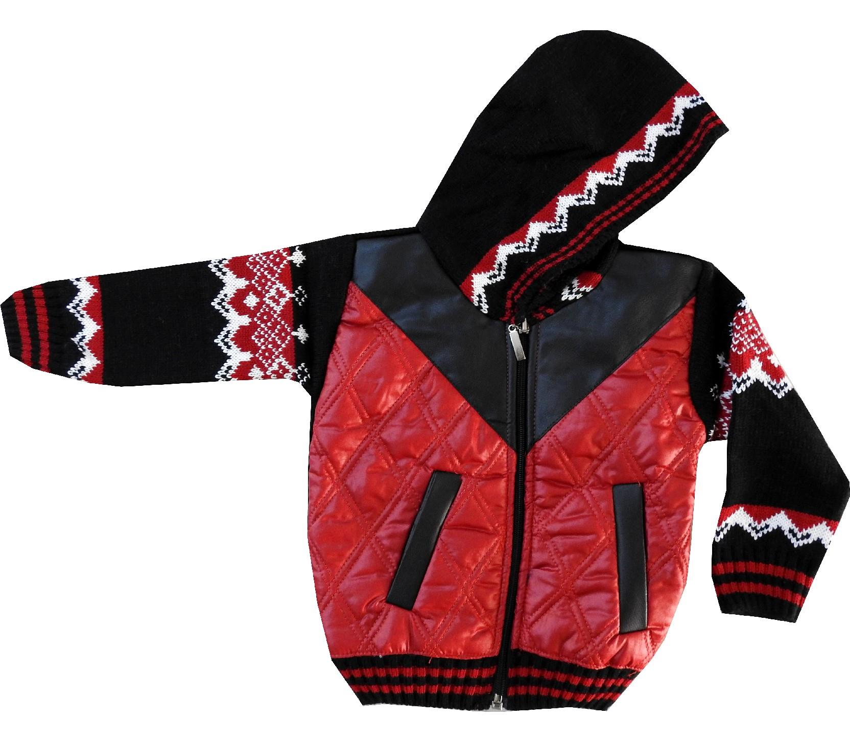 HOODIE QUILTED JACKET FOR BOY (1-2-3 AGE)