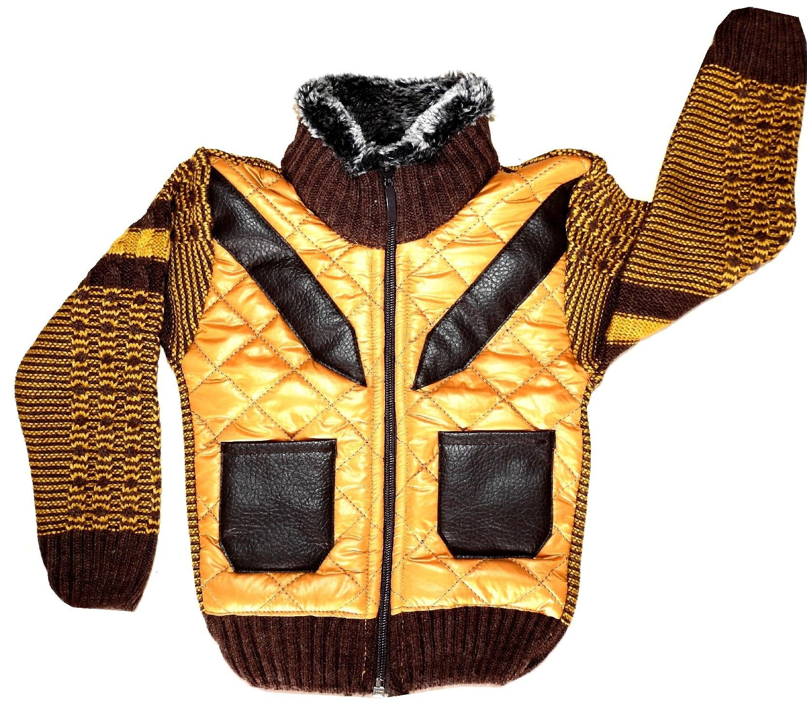 TURTLENECK QUILTED JACKET FOR BOY (1-2-3 AGE)