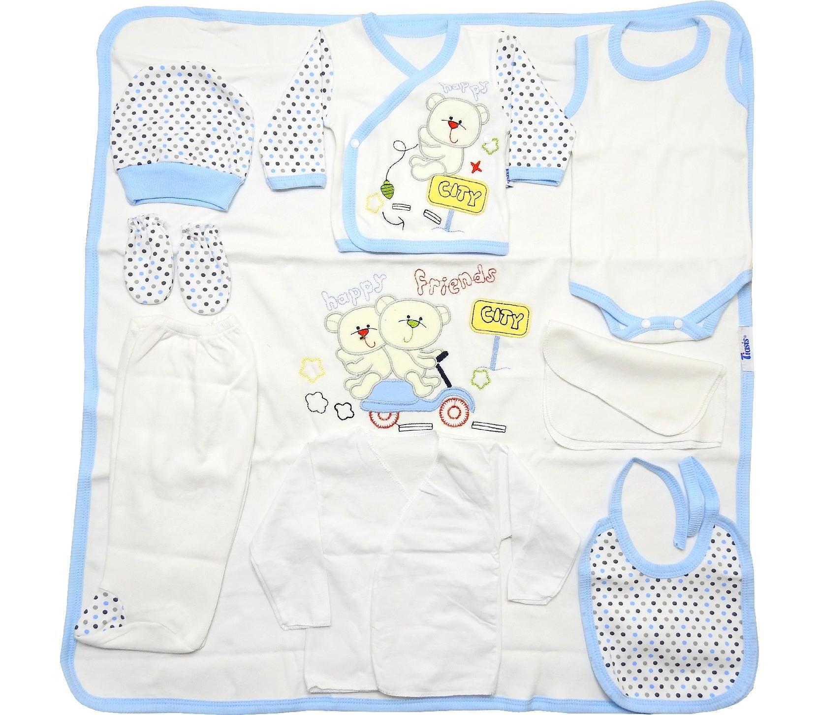 Wholesale newborn set, 10 pieces in package