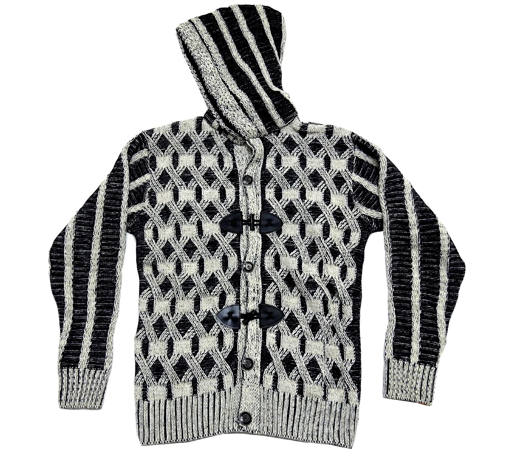 WHOLESALE HOODED DESIGN PULLOWER SWEATER FOR BOY (10-12-14 AGE)