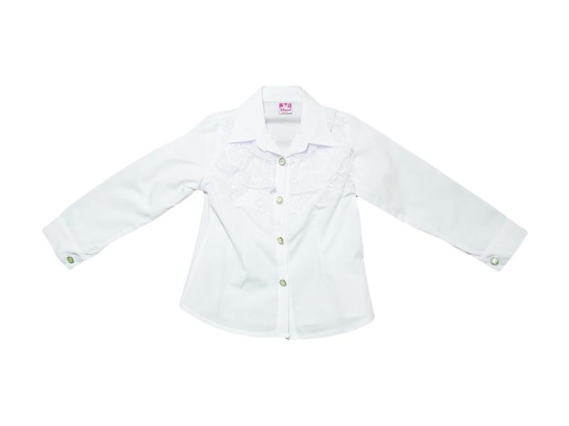 7109 Wholesale children's blouses school for girls on  5-6-7-8 age