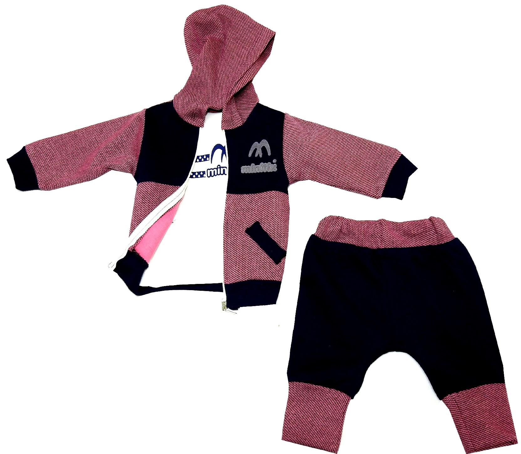 HOODIE TRIPLE SET FOR BOY (6-9-12 MONTH)