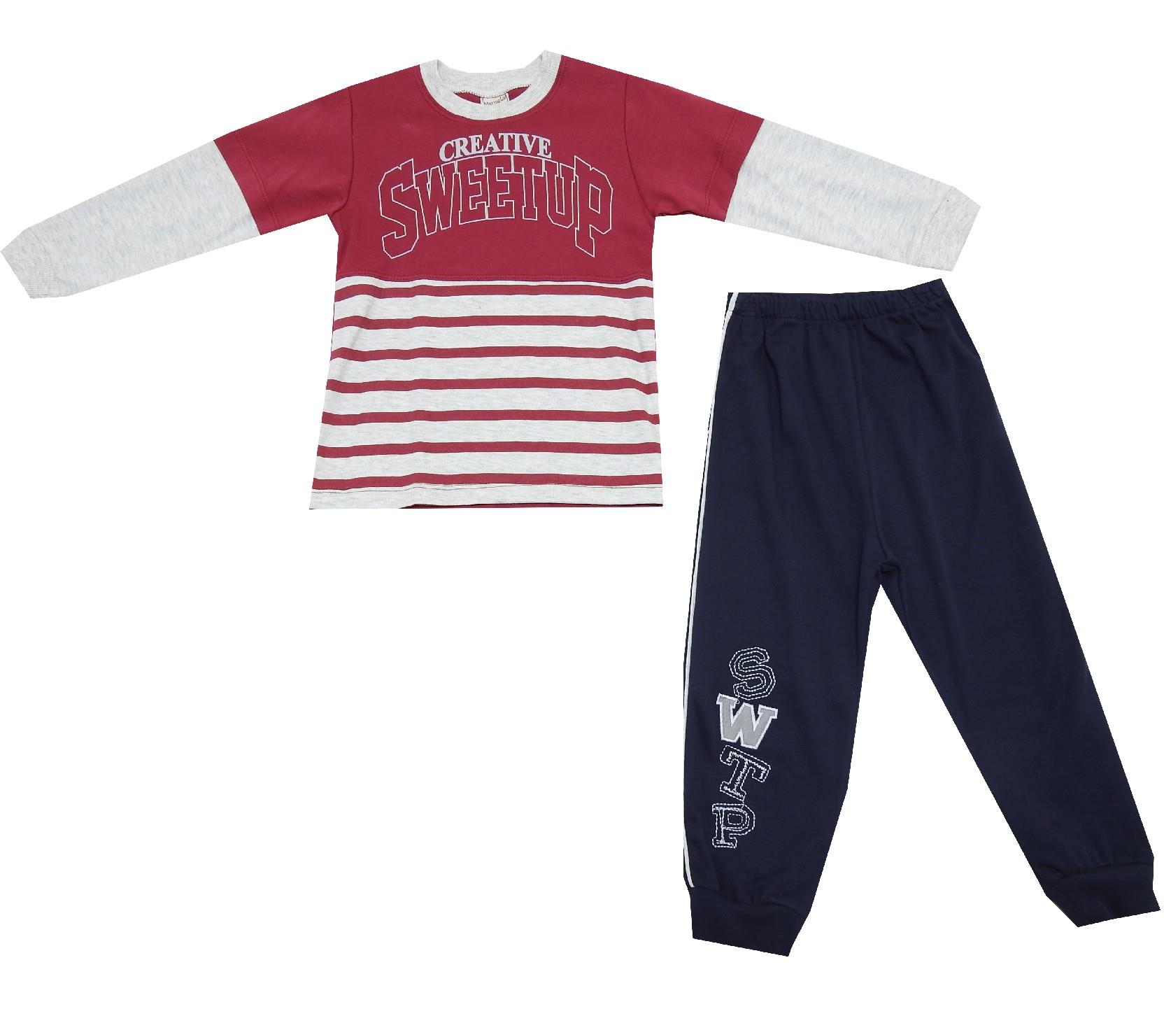 CREATIVE SWEETUP PRINTED DOUBLE SET FOR BOY (2-3-4 AGE)