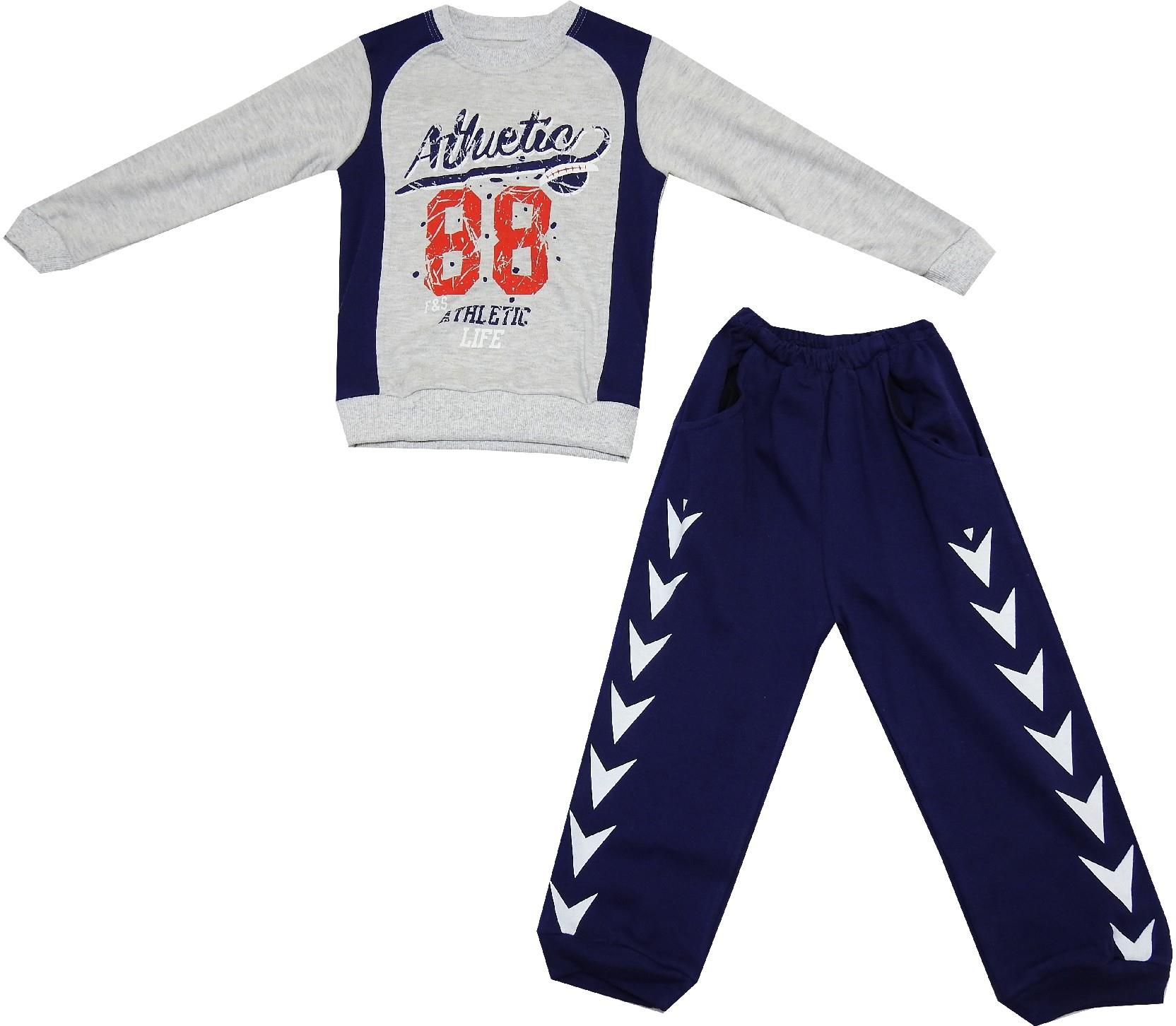 88 ATHLETIC PRNTED DOUBLE SET FOR BOY (2-3-4 AGE)