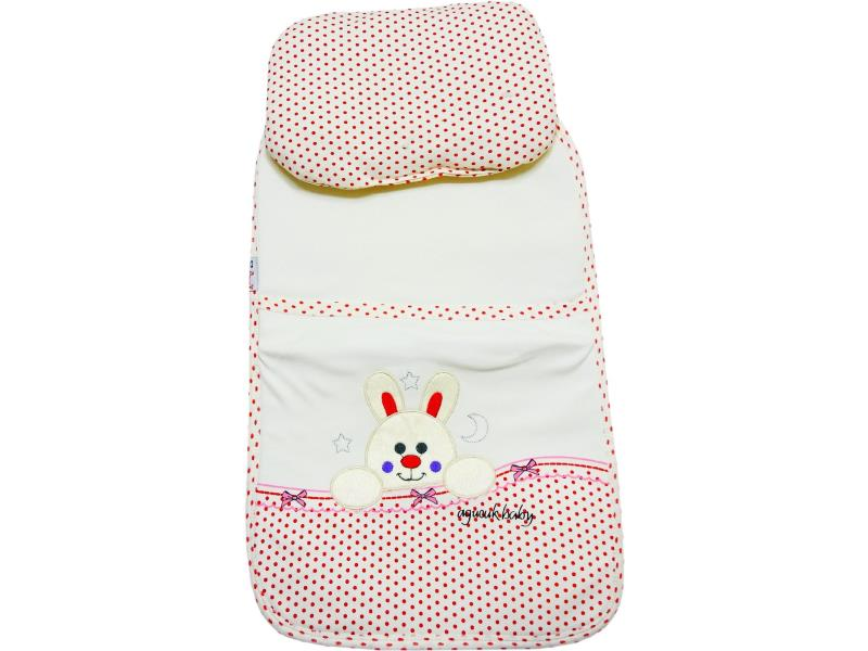 80025 wholesale spotty embroidery rabbit printed changing mat for baby