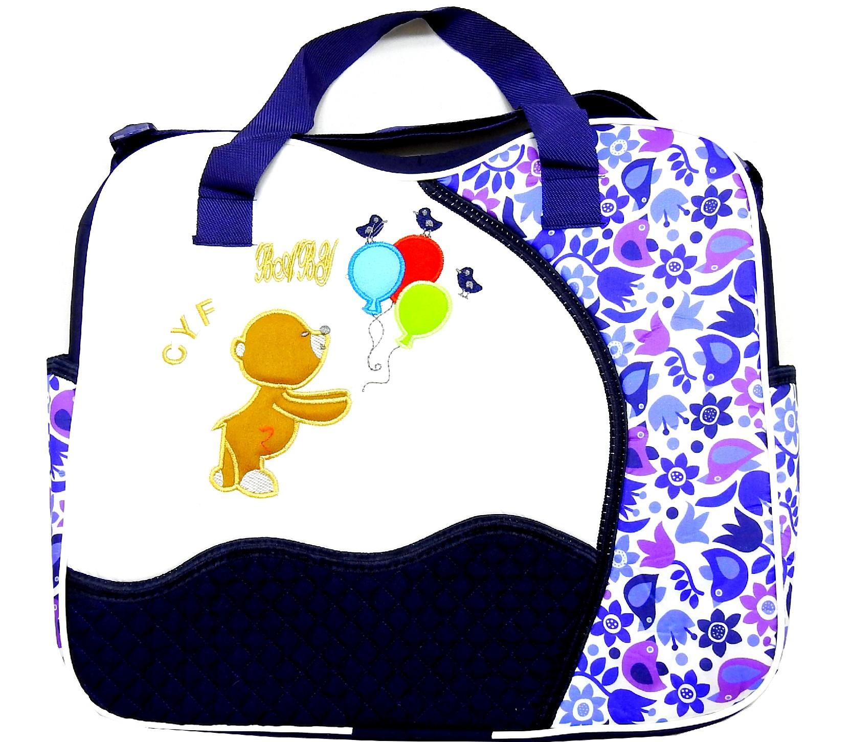 189 Wholesale bear printed carebag for baby