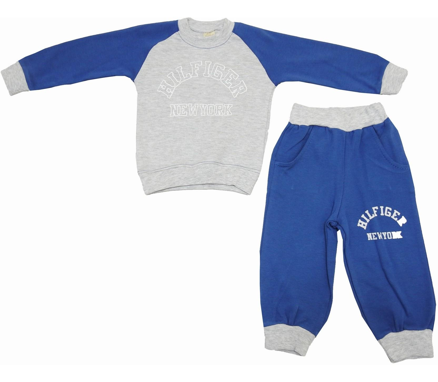 HILFIGHER NEWYORK PRINTED DOUBLE SET FOR BOY (1-2-3 AGE)