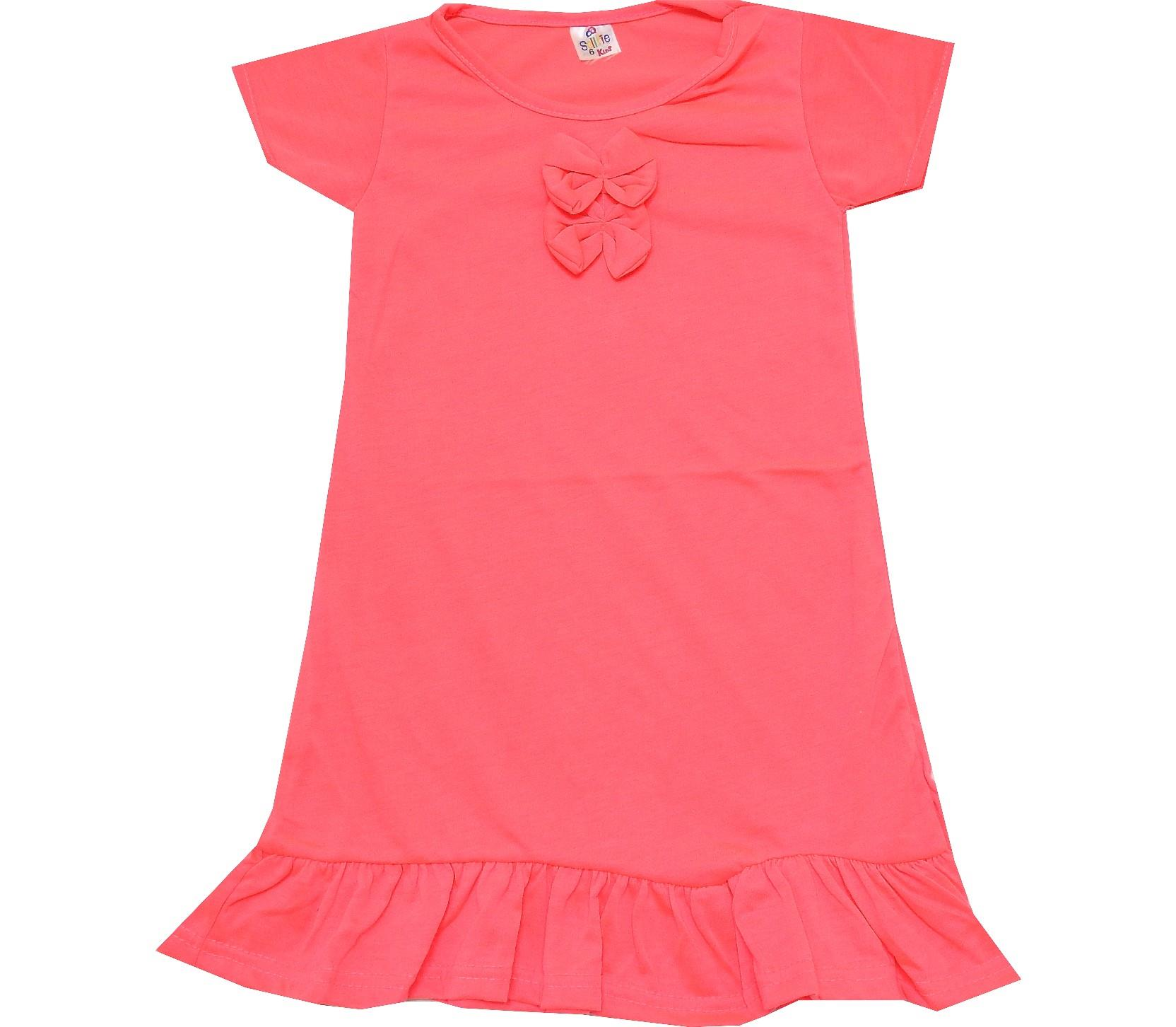 TWO RIBBON BUCKLE DESIGN DRESS (2-3-4-5-6 AGE)