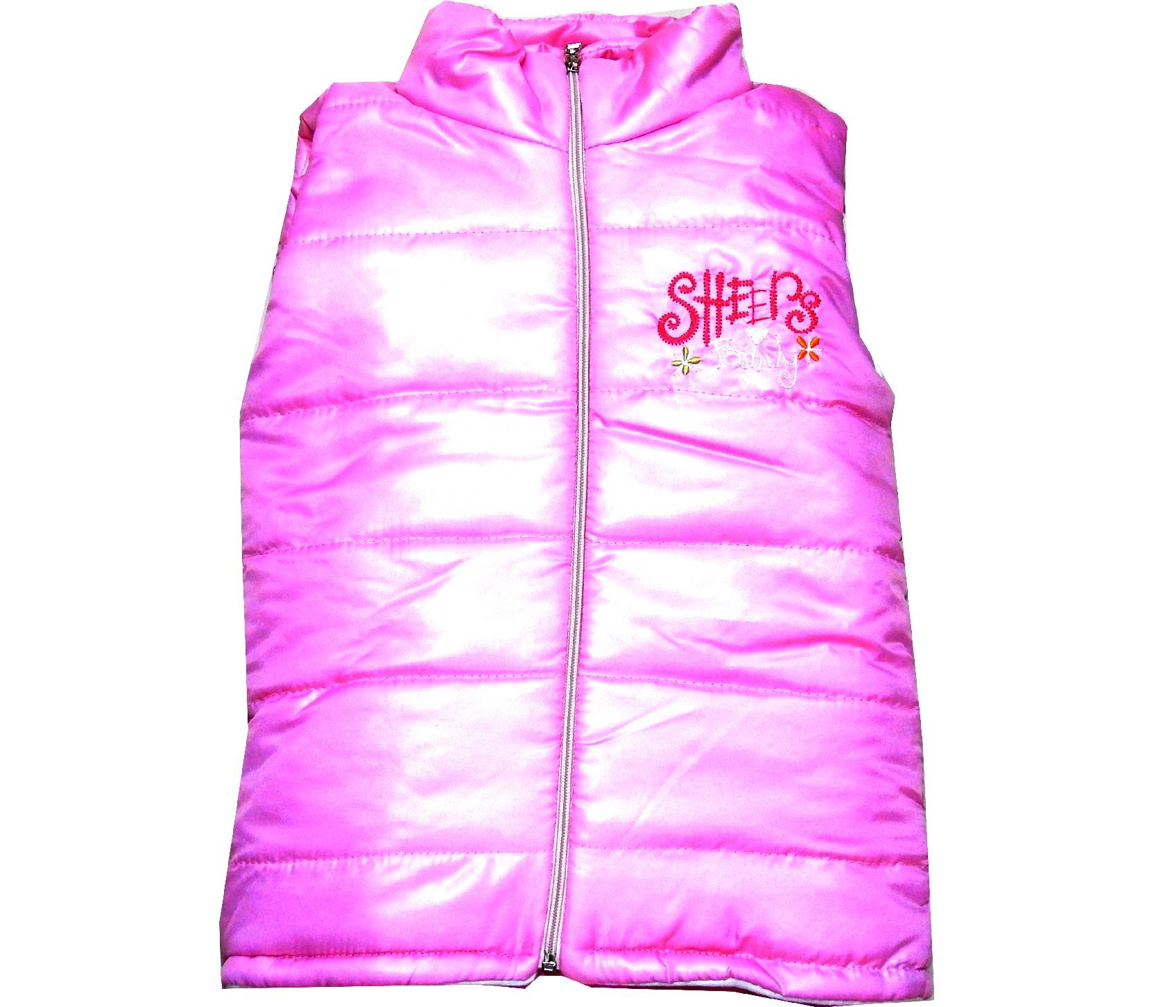Wholesale quilted design vest for kids (5-6-7-8 age)