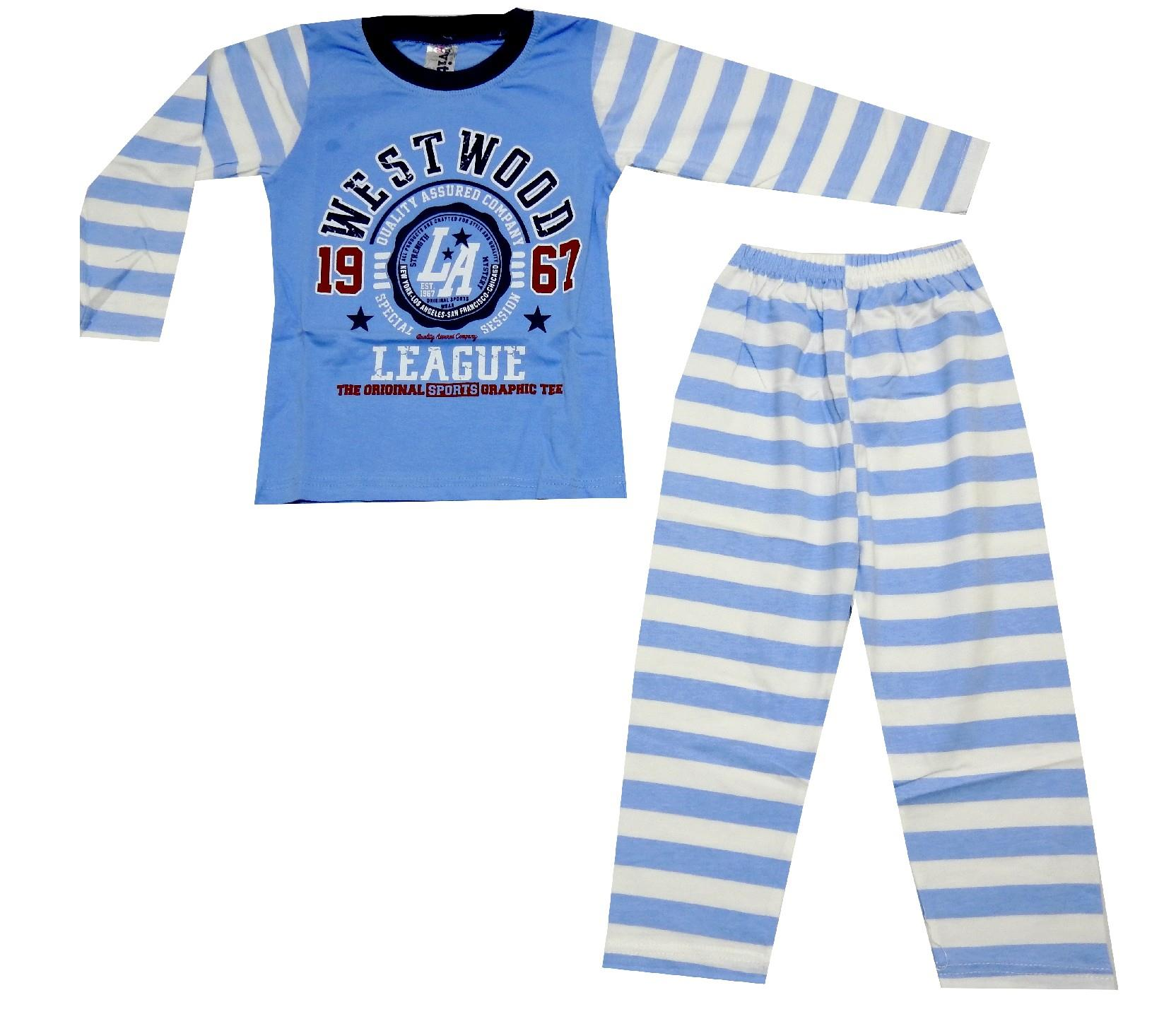 WESTWOOD 1967 STRIPED DESIGN PYJAMAS DOUBLE SET FOR BOY (1-2-3 AGE)