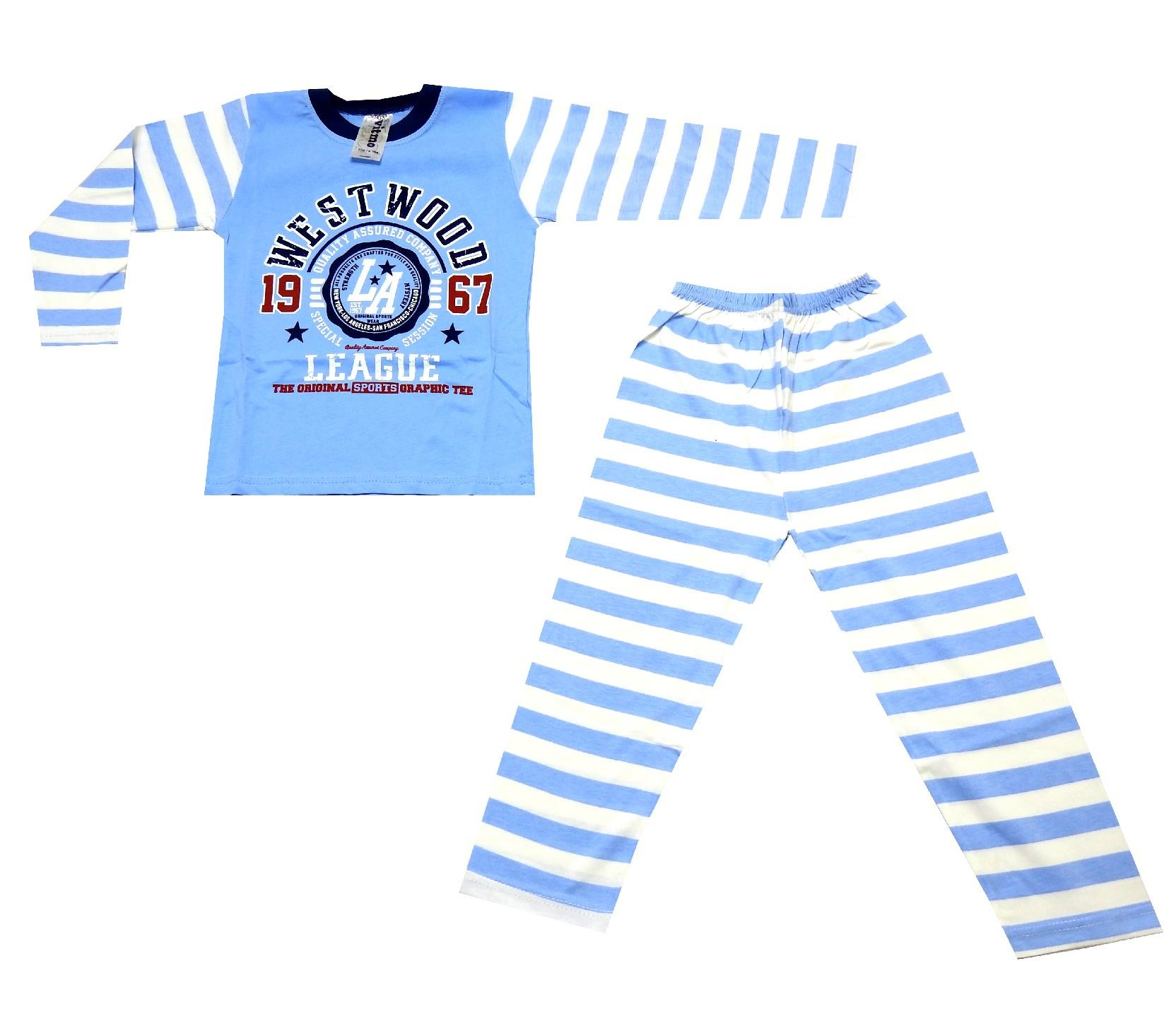 WESTWOOD 1967 PRINTED DEIGN PYJAMAS DOUBLE SET FOR GIRL (4-5-6 AGE)