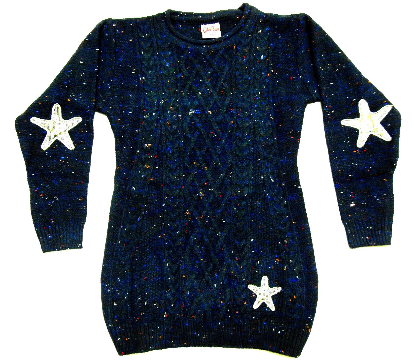 WHOLESALE STAR EMBROIDERY TUNIC FOR GIRL (5-7-9 AGE)