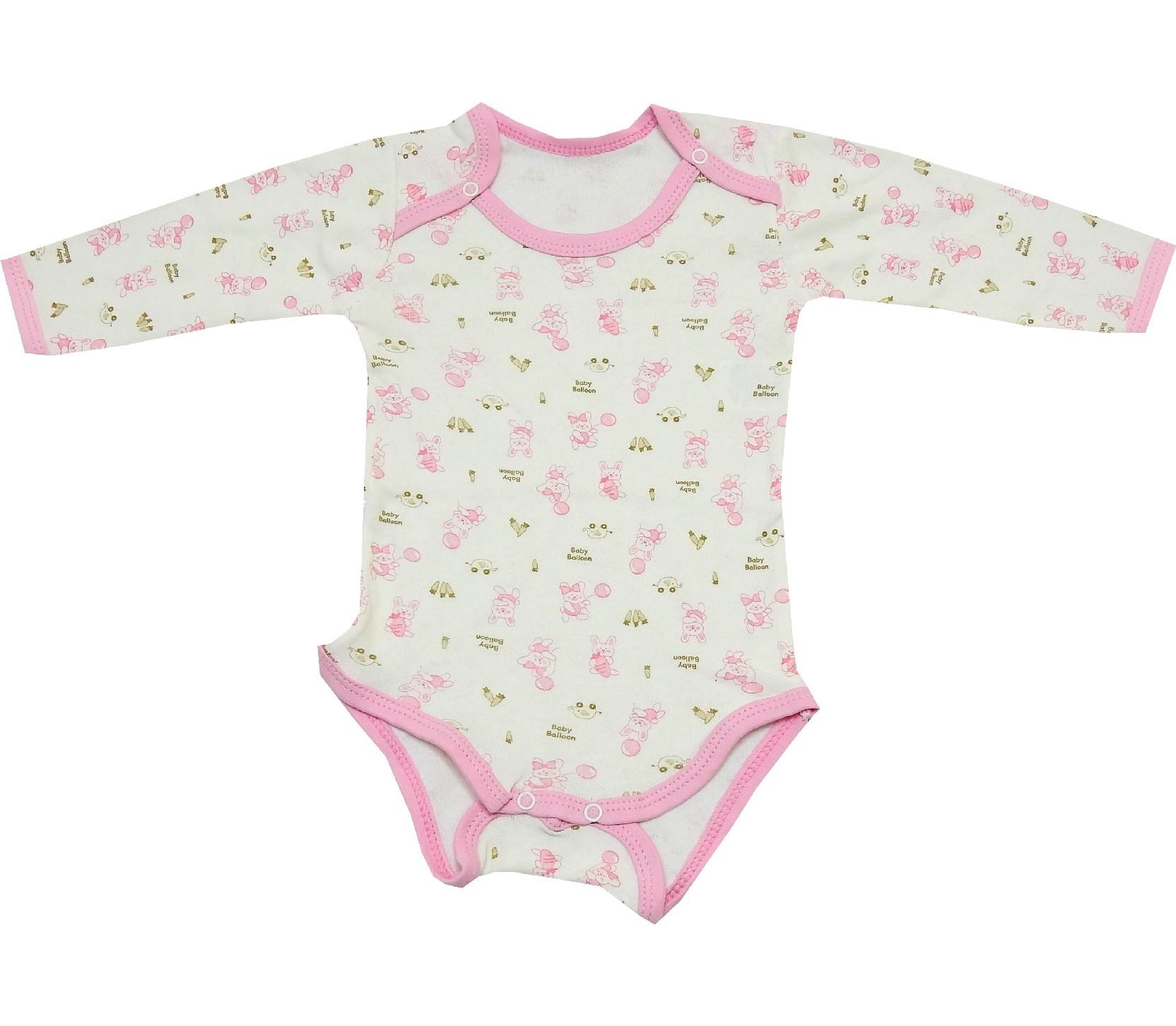 LONG SLEEVE BUTTON FASTENING BODY (6-9-125-18 AGE)