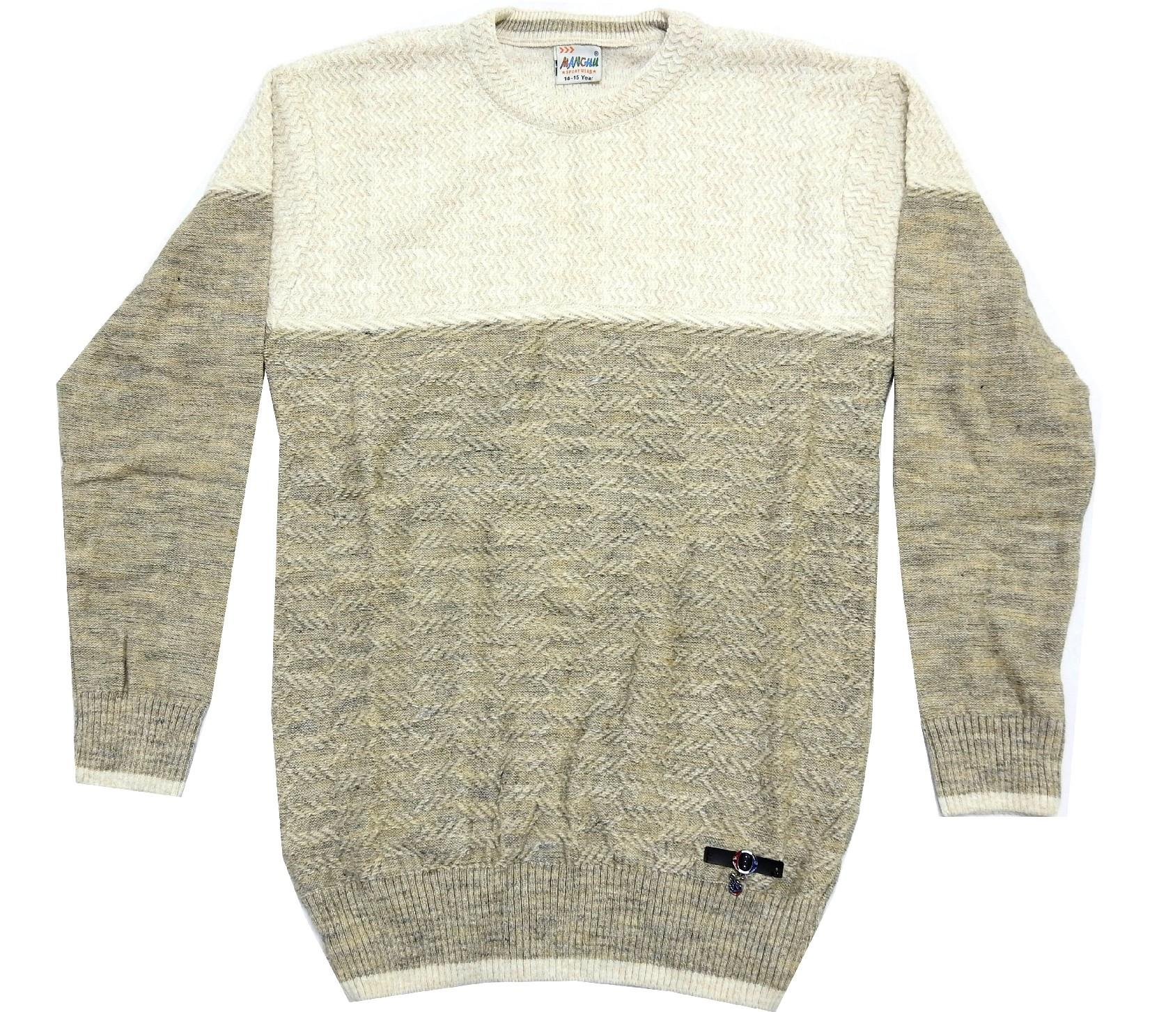 WHOLESALE KNITTED DESIGN SWEATER PULLOWER FOR BOY/KIDS AND BABY (10-12-14 AGE)