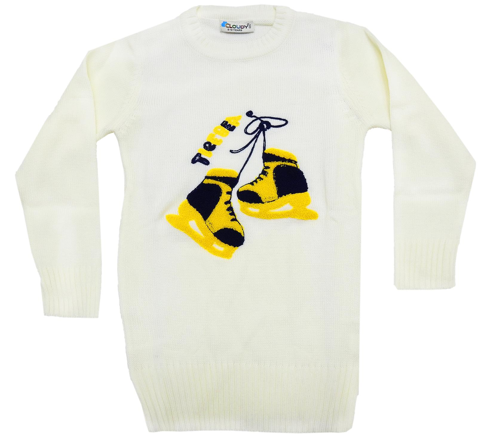 WHOLESALE SKATE PRINTED DESIN SWEATER FOR GIRL (5-7-9 AGE)