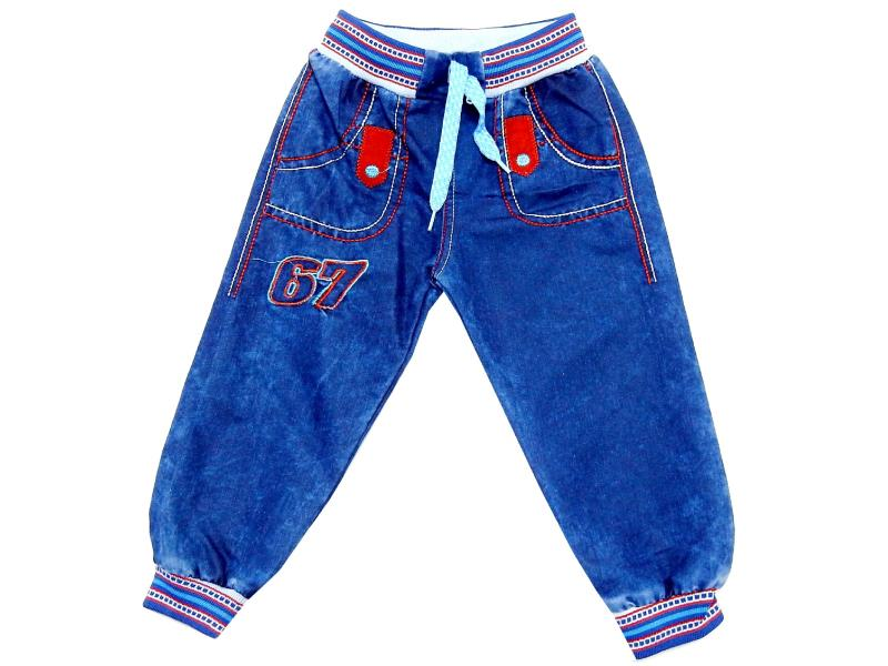 67 PRINTED DESIGN JEANS PANT FOR BOY (1-2-3-4 AGE)
