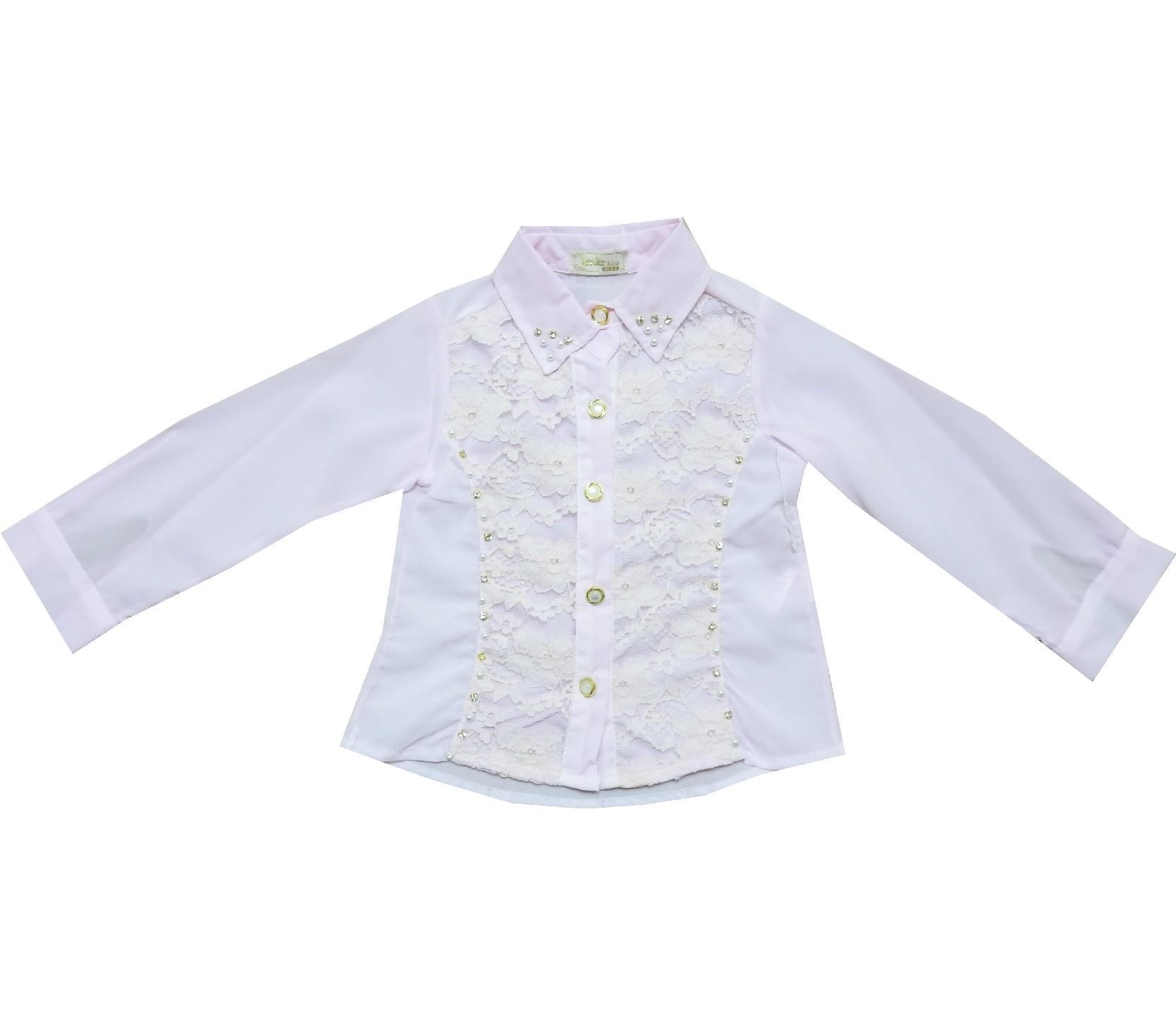 Wholesale lace embroidery shirt for girl (2-3-4-5 age)