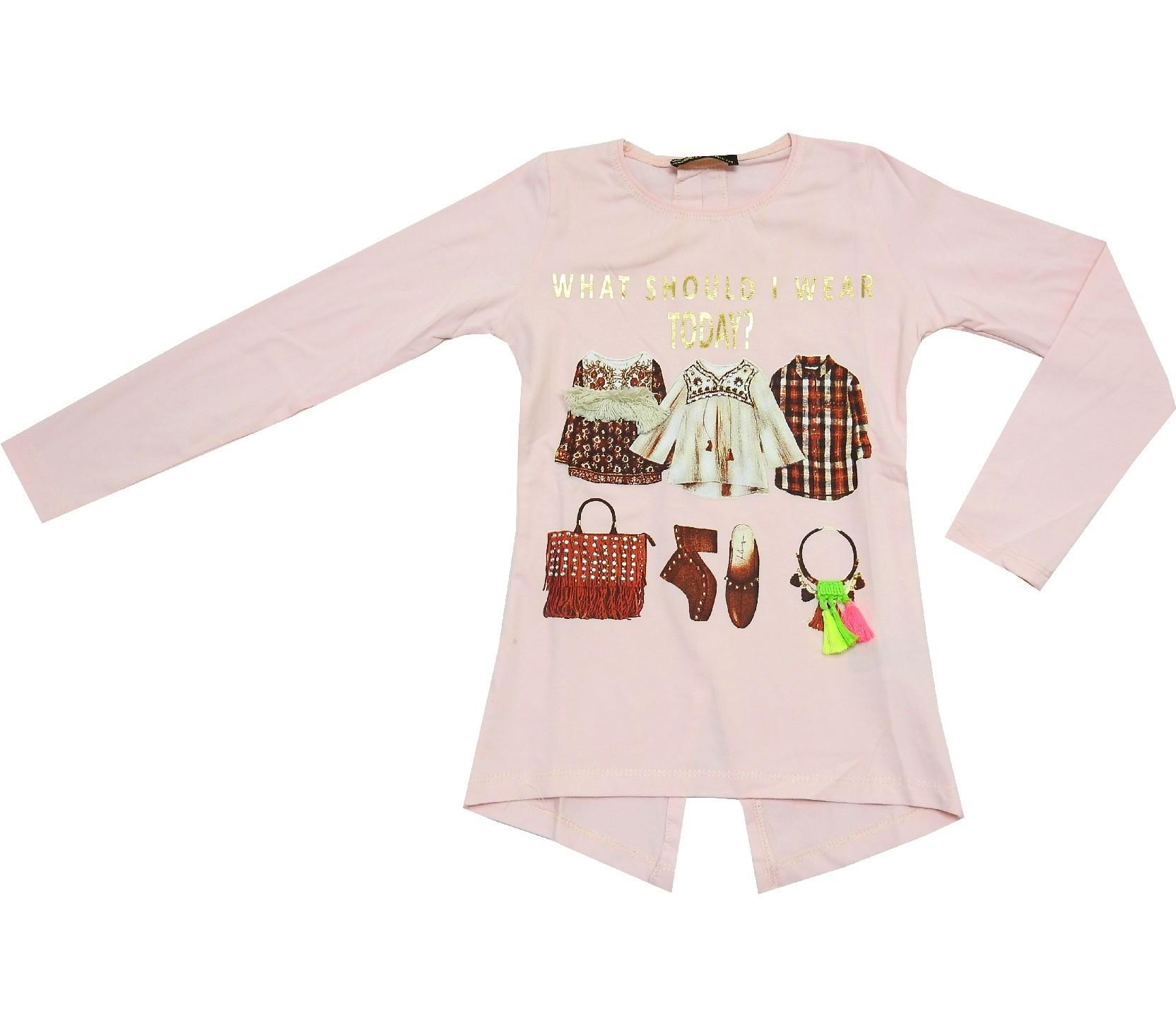 CLOTHES PRINTED DESIGN TUNIC FOR GIRL (5-6-7-8 AGE)