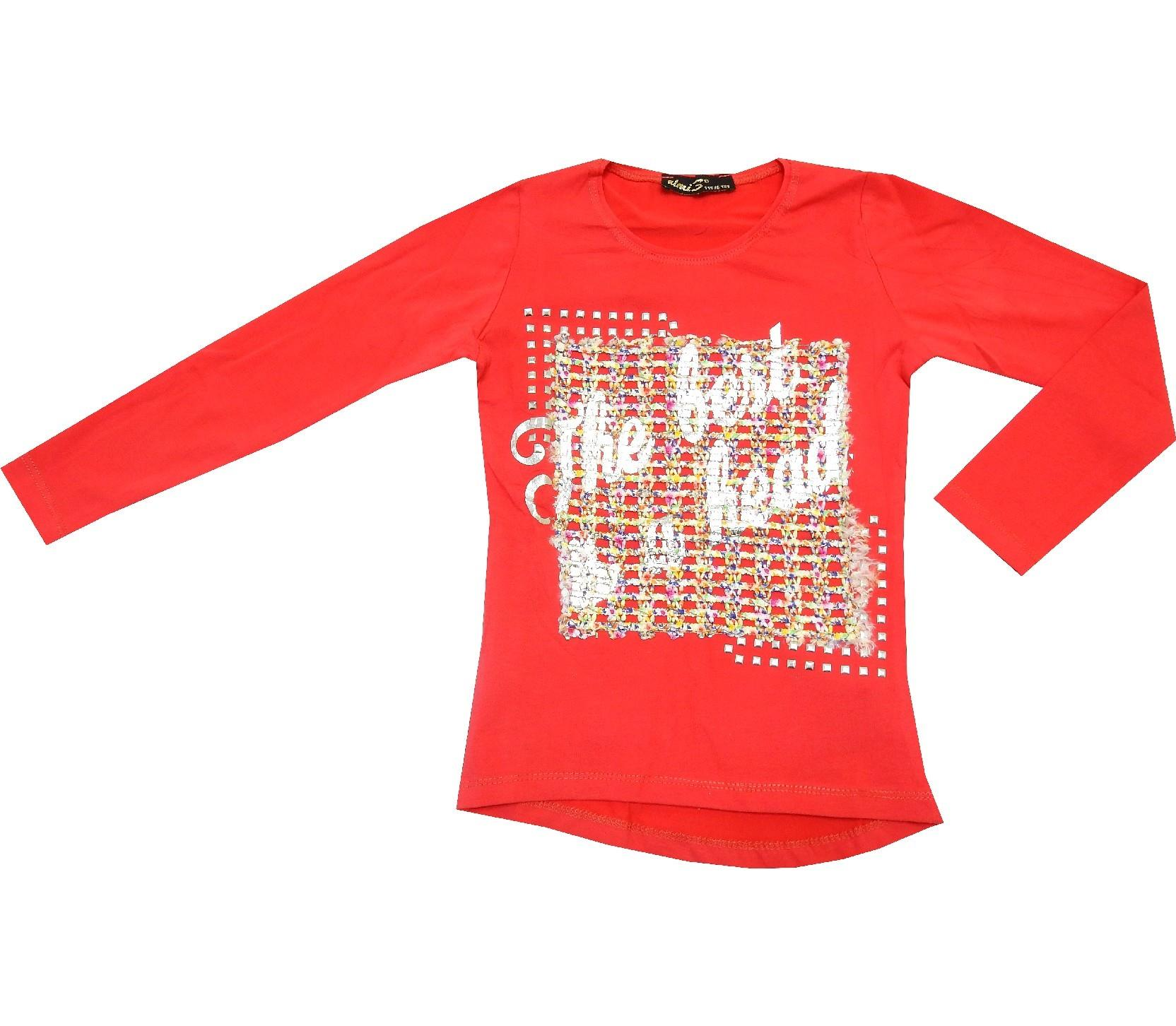 WHOLESALE LETTER PRINTED DESIGN TUNIC FOR GIRL (9-10-11-12 AGE)