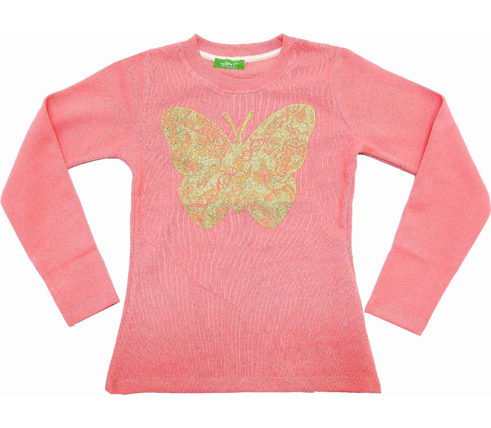 Wholesale butterfly print sweat for girl (9-10-11-12 age)