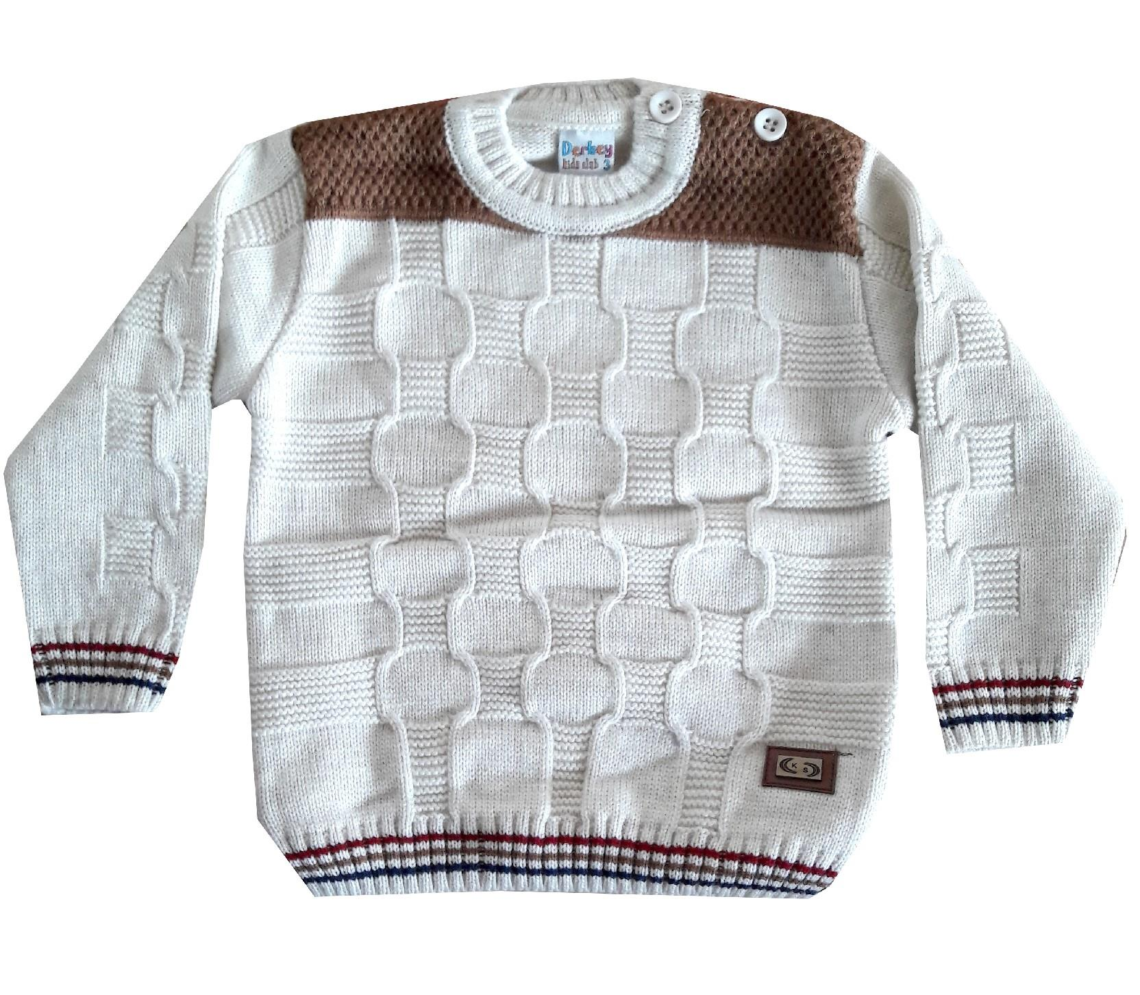 Wholesale knitted design sweater for boy (1-2-3 age)