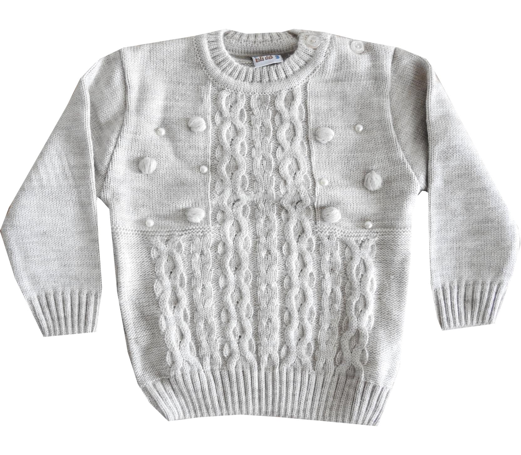 Wholesale knitted jumper for girl (1-2-3 age)