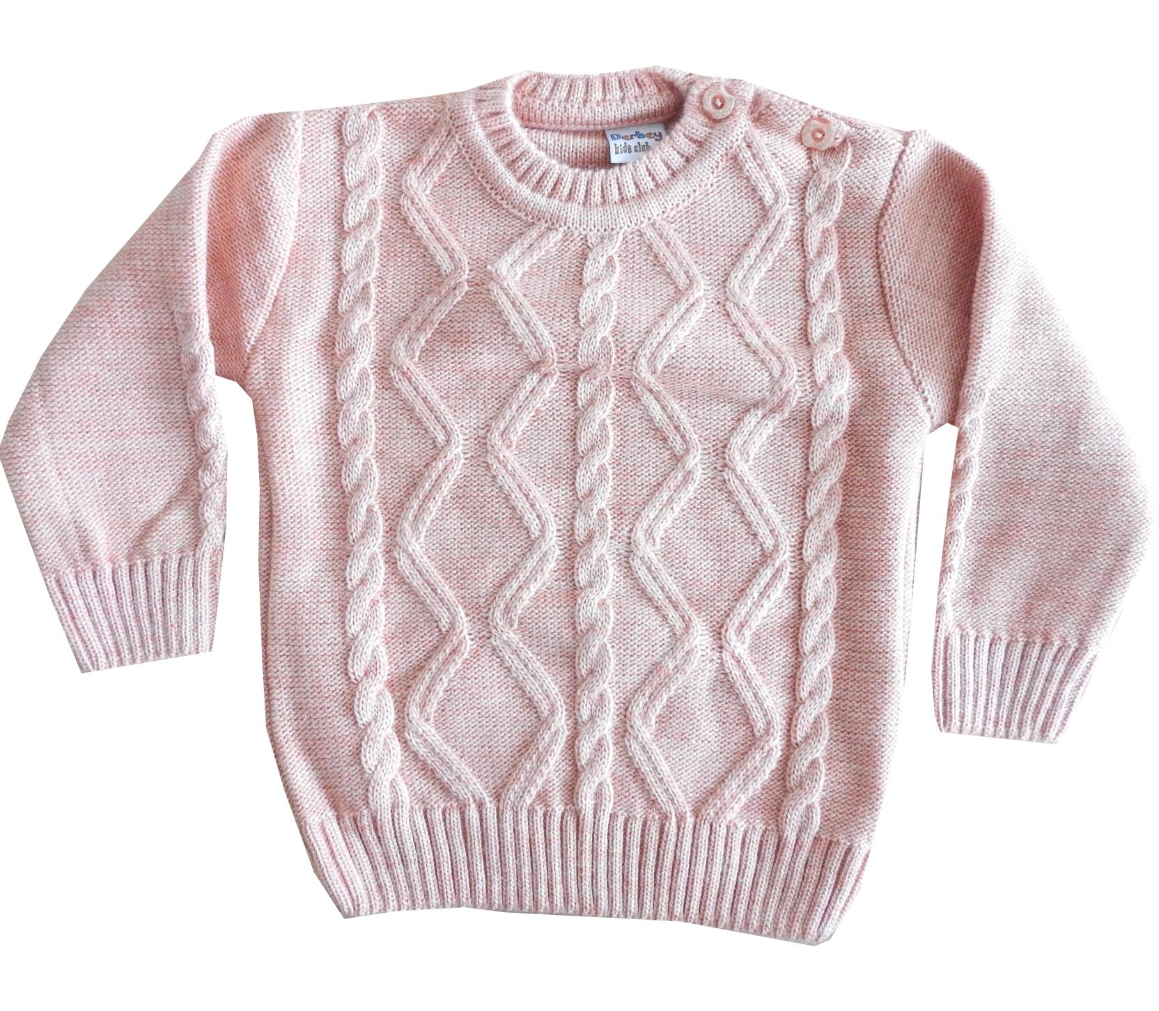 Wholesale knitted sweater for girl (1-2-3 age)