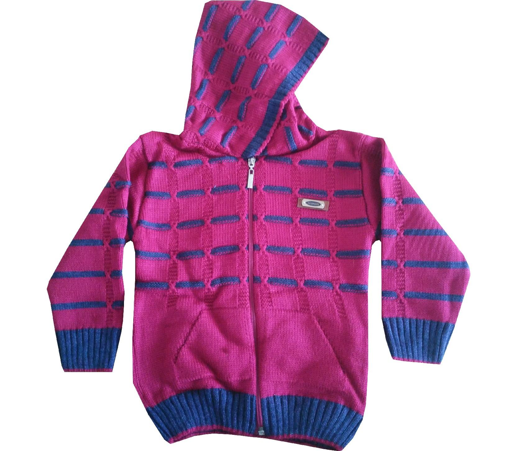 Wholesale hooded sweat cardigan for boy (1-2-3 age)