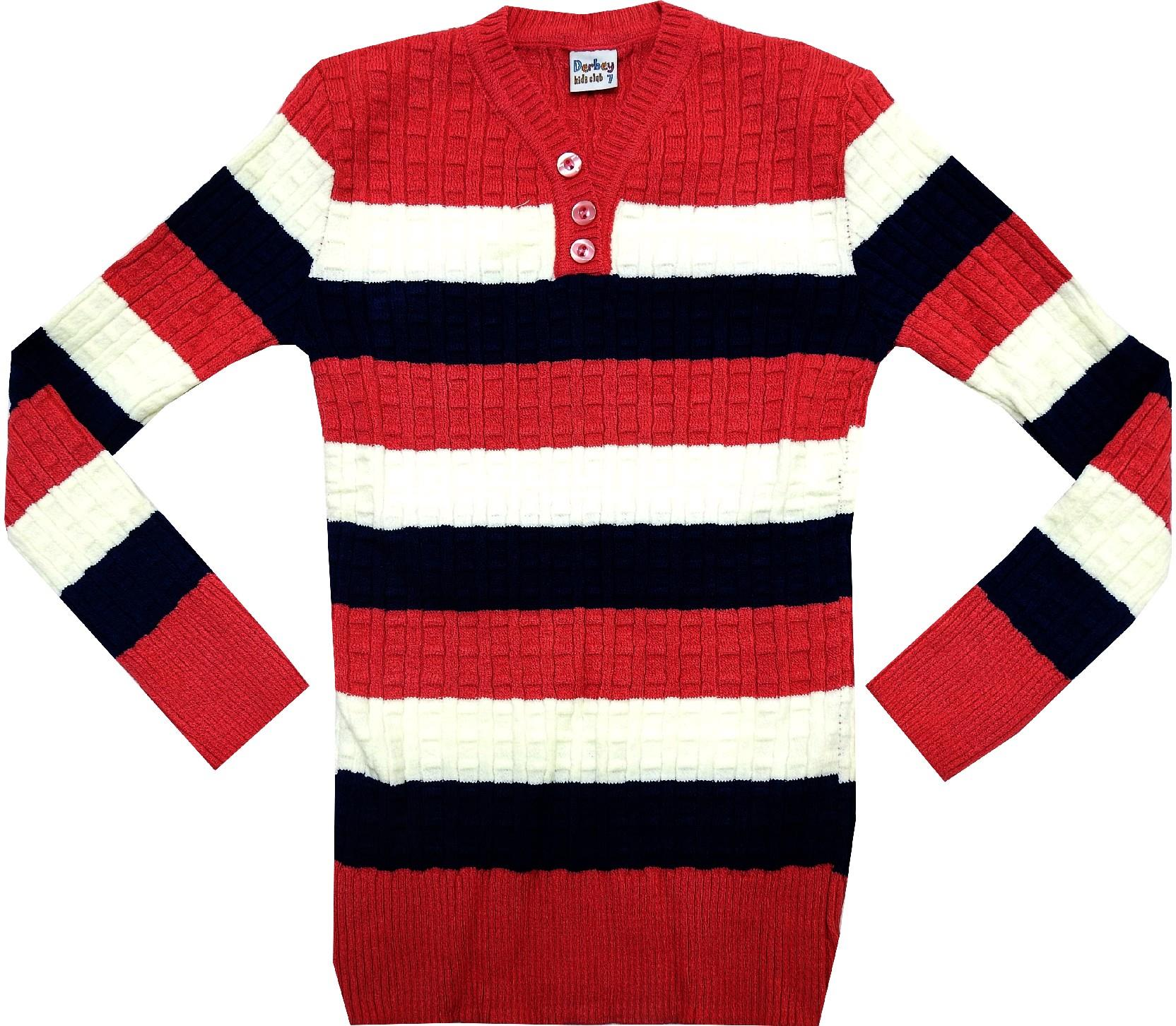 WHOLESALE STRIPED SWEATER FOR GIRL (10-12 AGE)