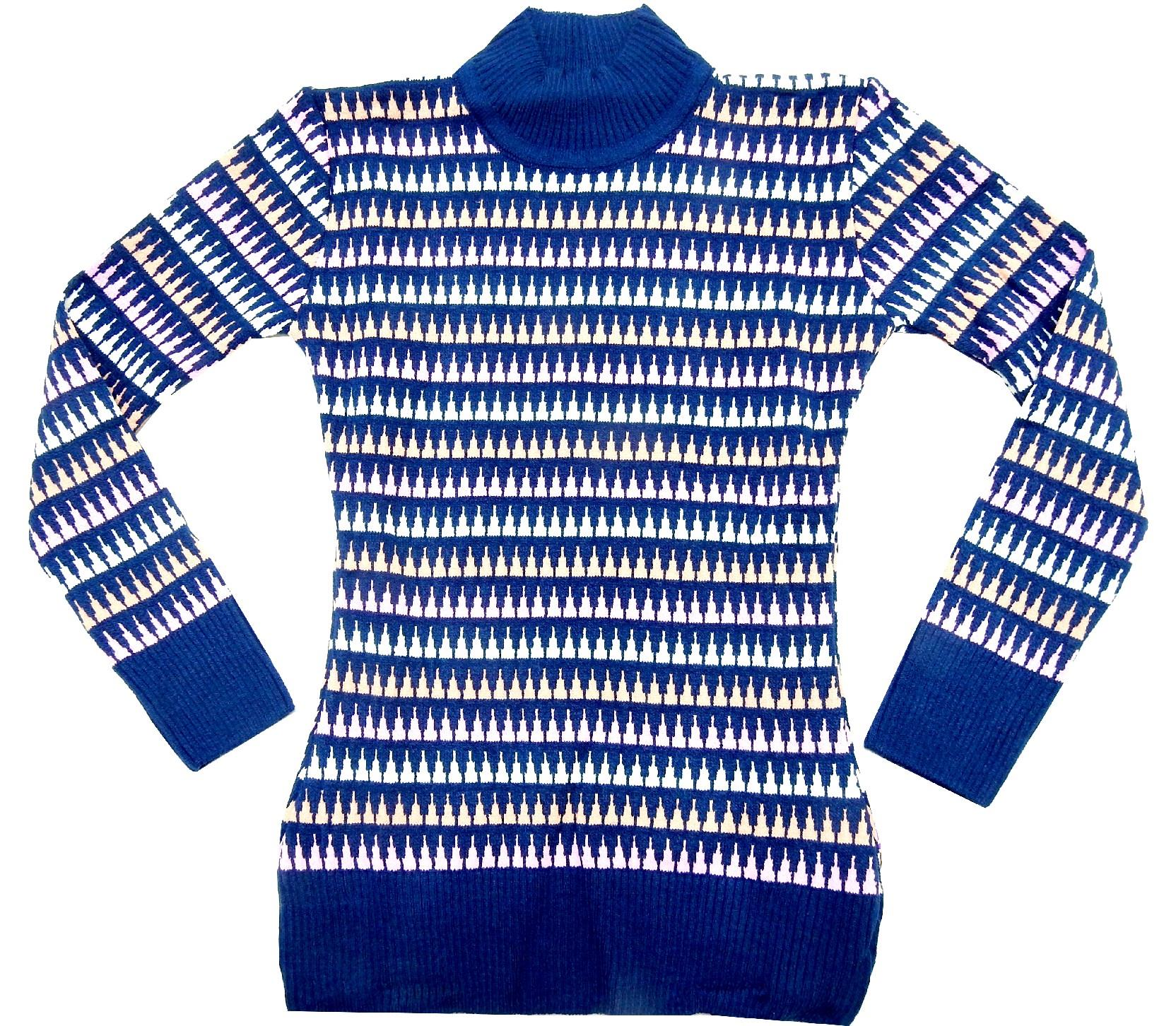 WHOLESALE STRIPED SWEATER PULLOVER FOR GIRL (10-12 AGE)