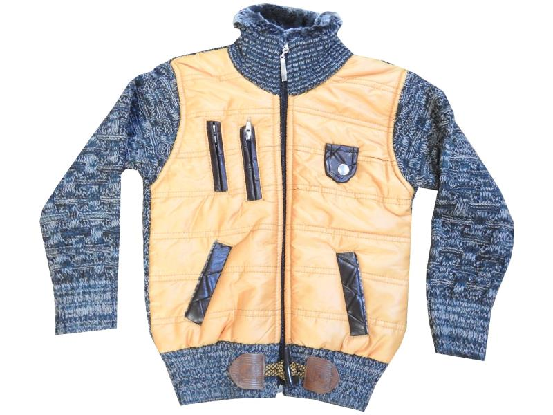 Wholesale quilted design coat for boy (4-6-8 age)