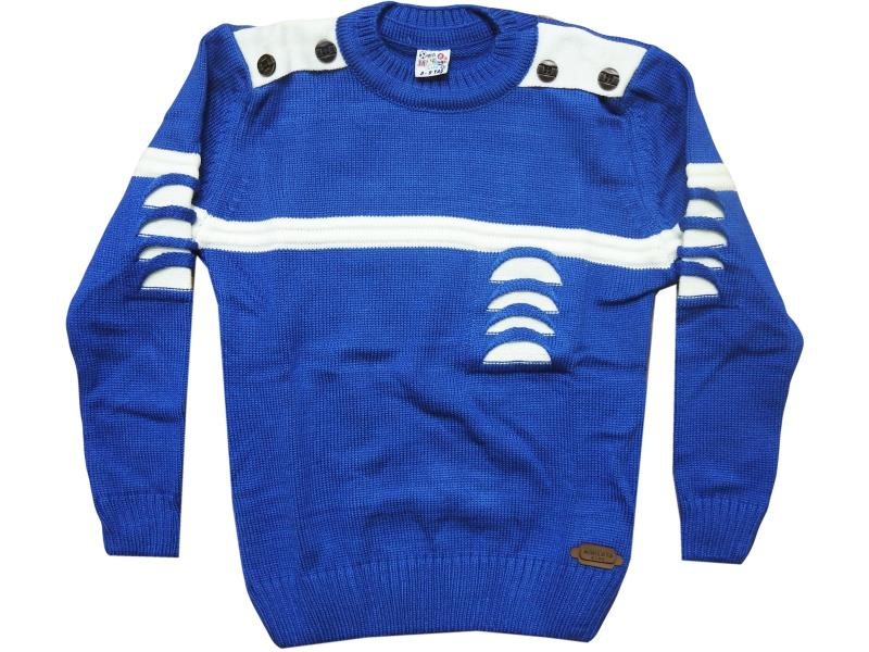 301 Torn detalied sweater for boy babies  4-6-8 age
